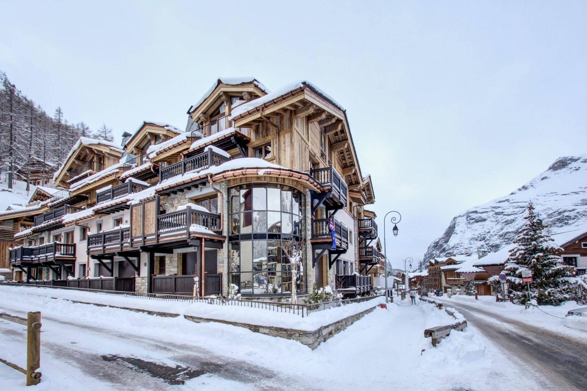 Val d'Isère Location Appartement Luxe Ululite Extérieur