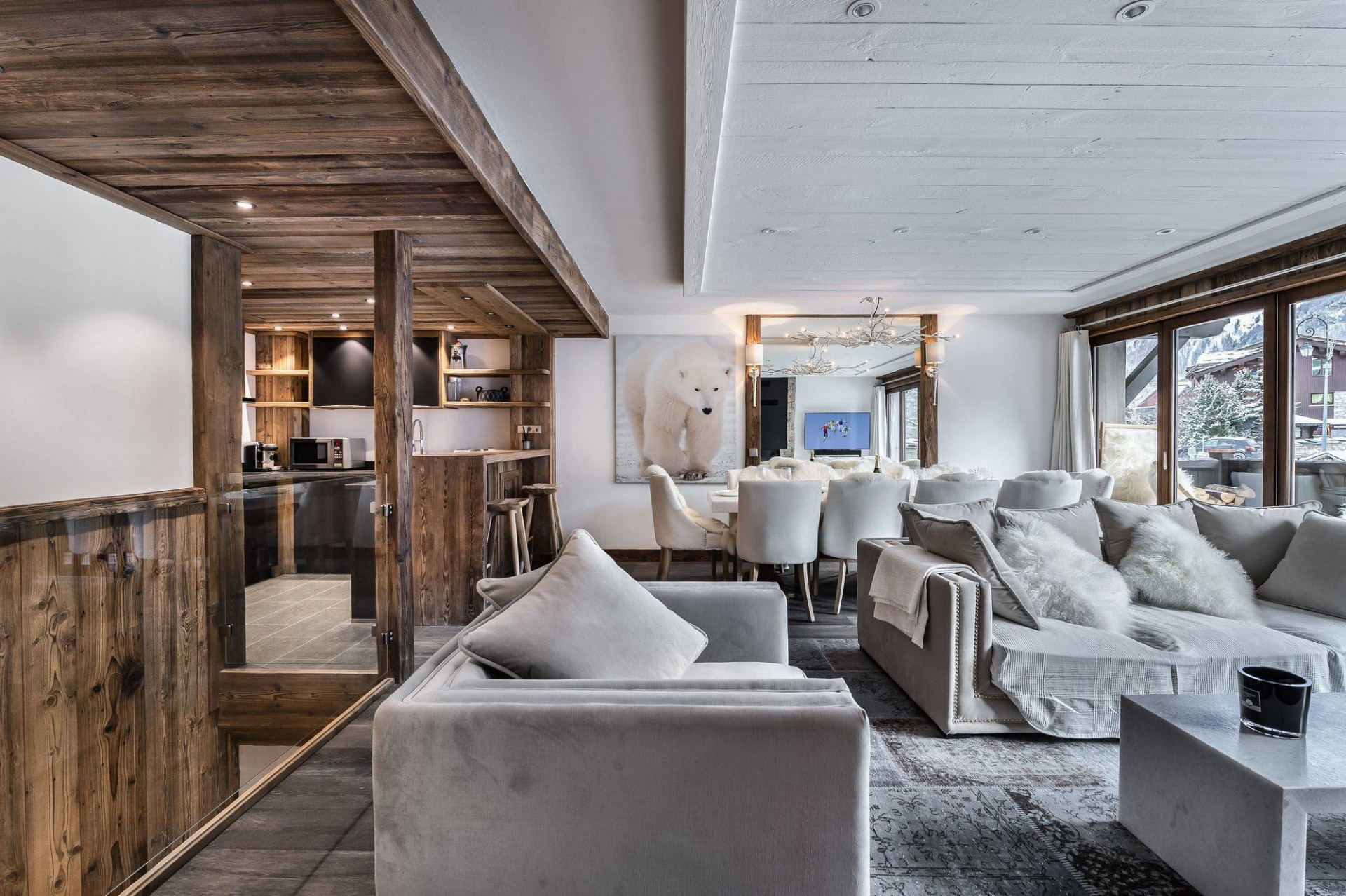 Val d'Isère Location Appartement Luxe Ululite Séjour