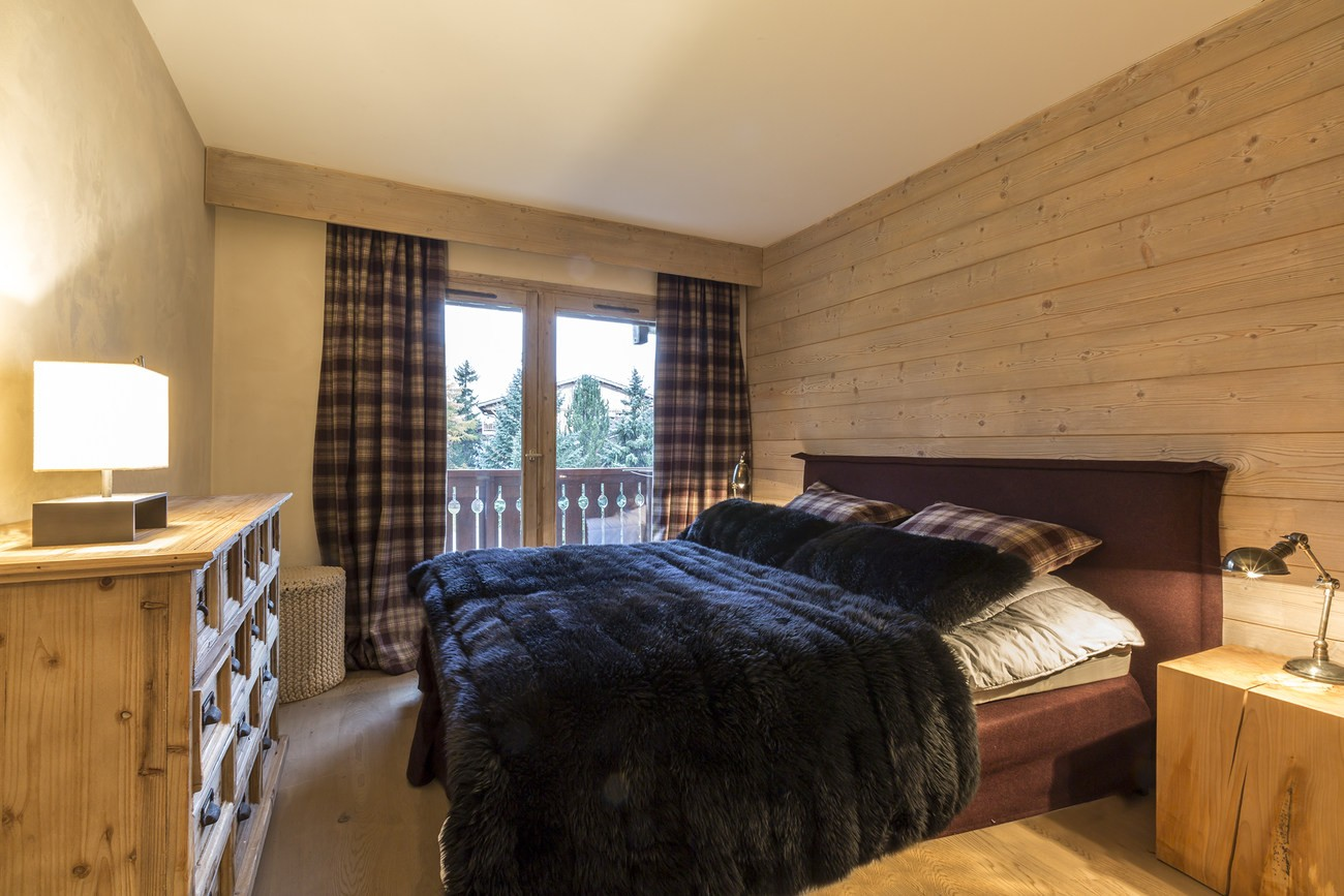 Val d'Isère Location Appartement Luxe Vadakite Chambre