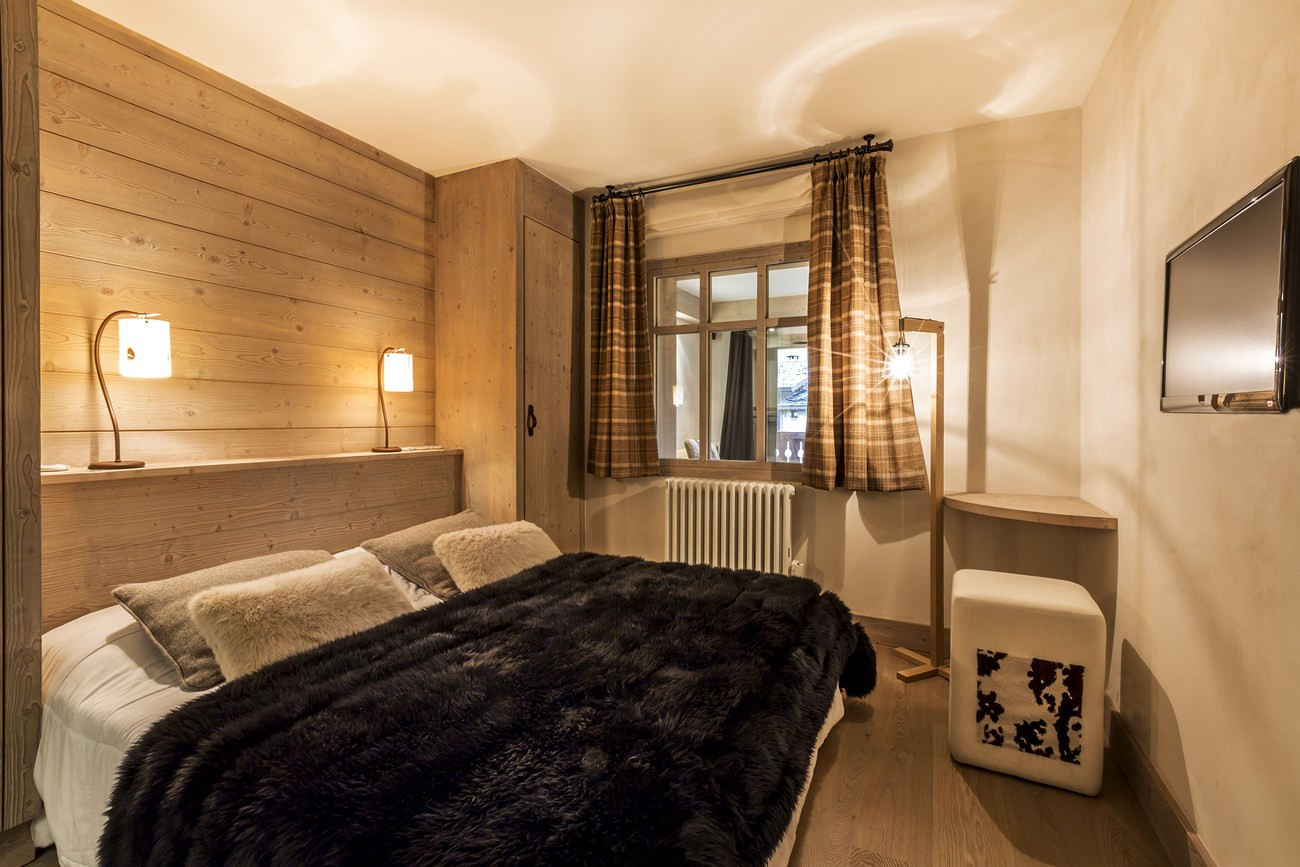 Val d'Isère Location Appartement Luxe Vadakite Chambre 3