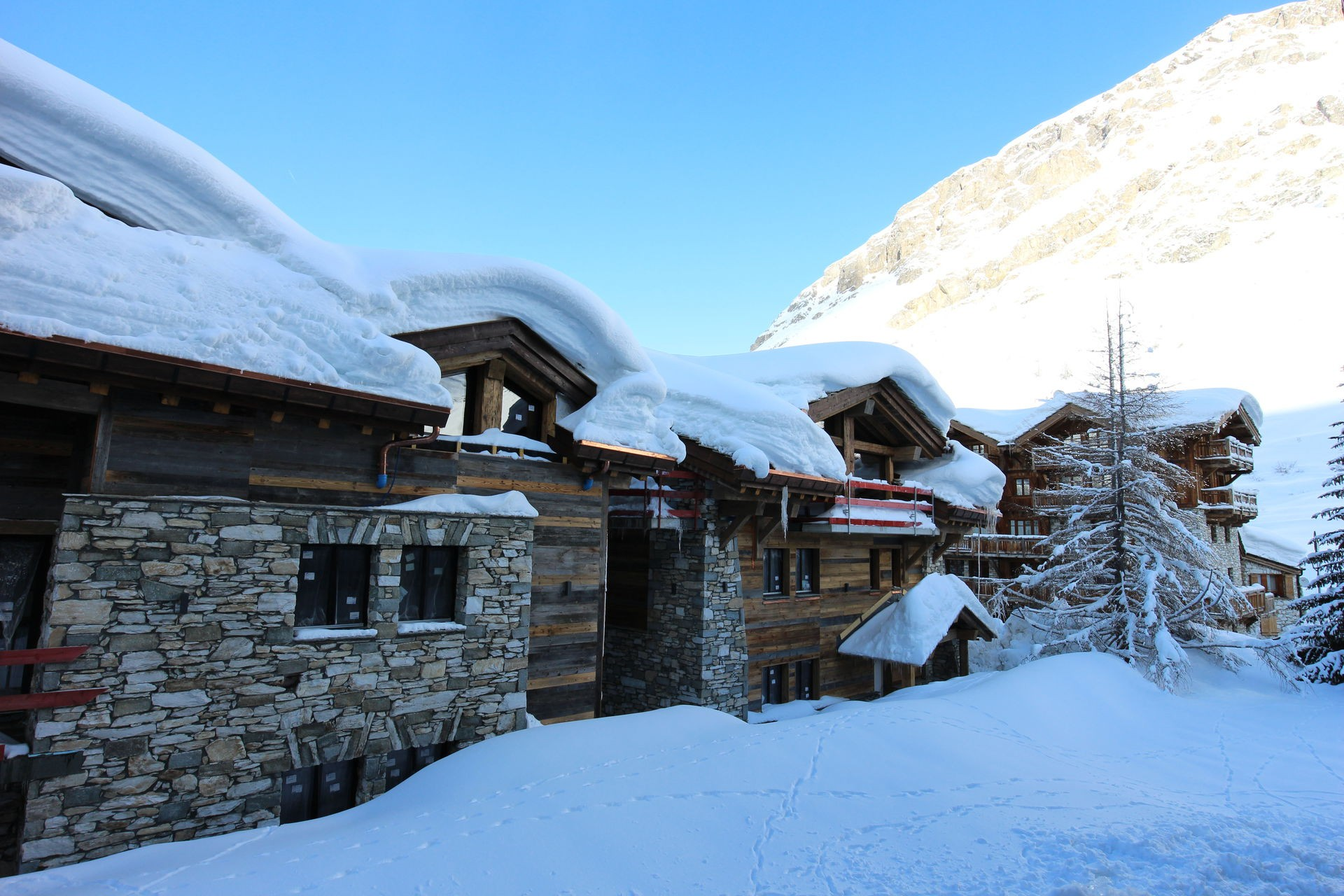 Val d'Isère Location Appartement Luxe Vadakite Extérieur