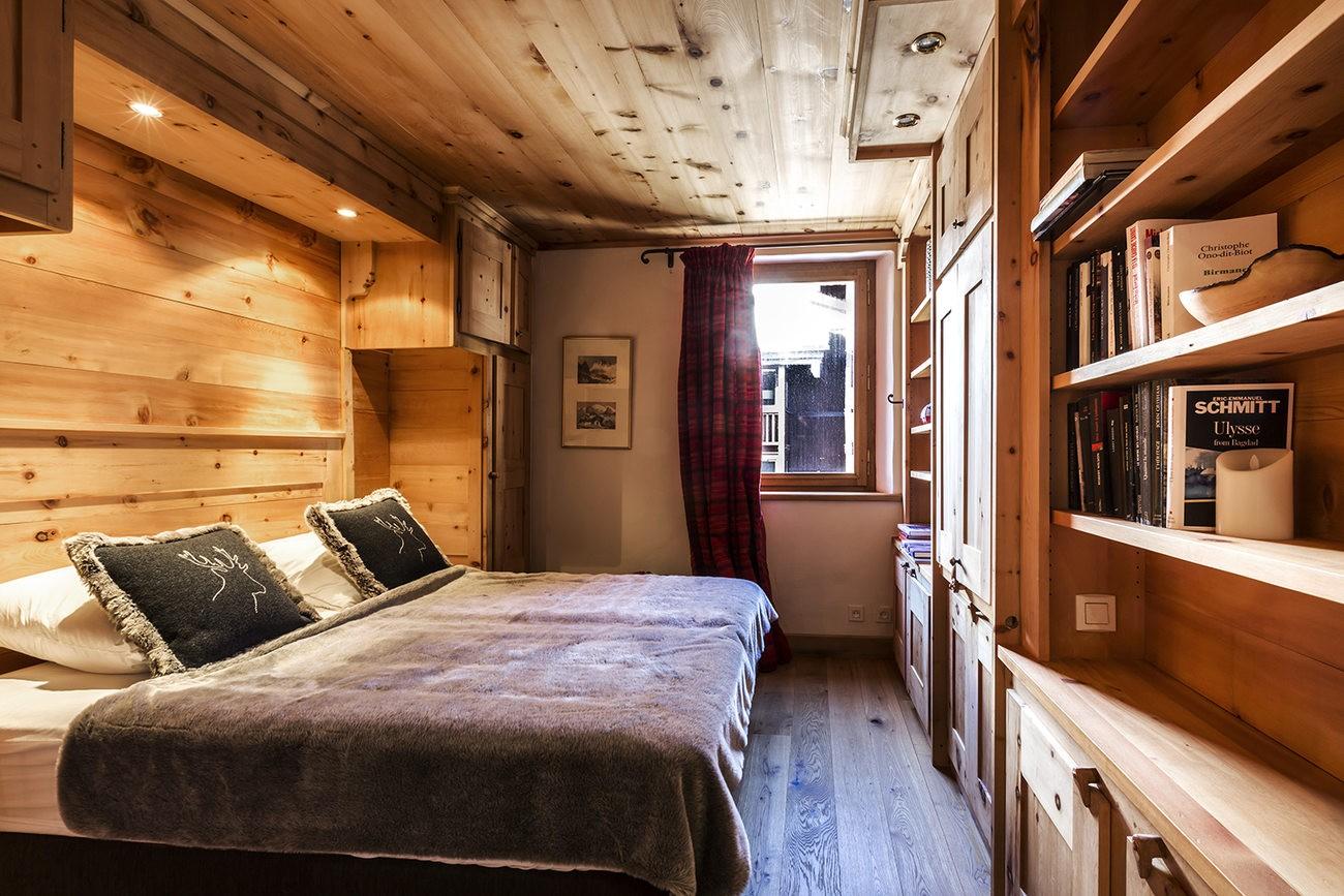 Val d'Isère Luxury Rental Apartment Vanuralite Bedroom
