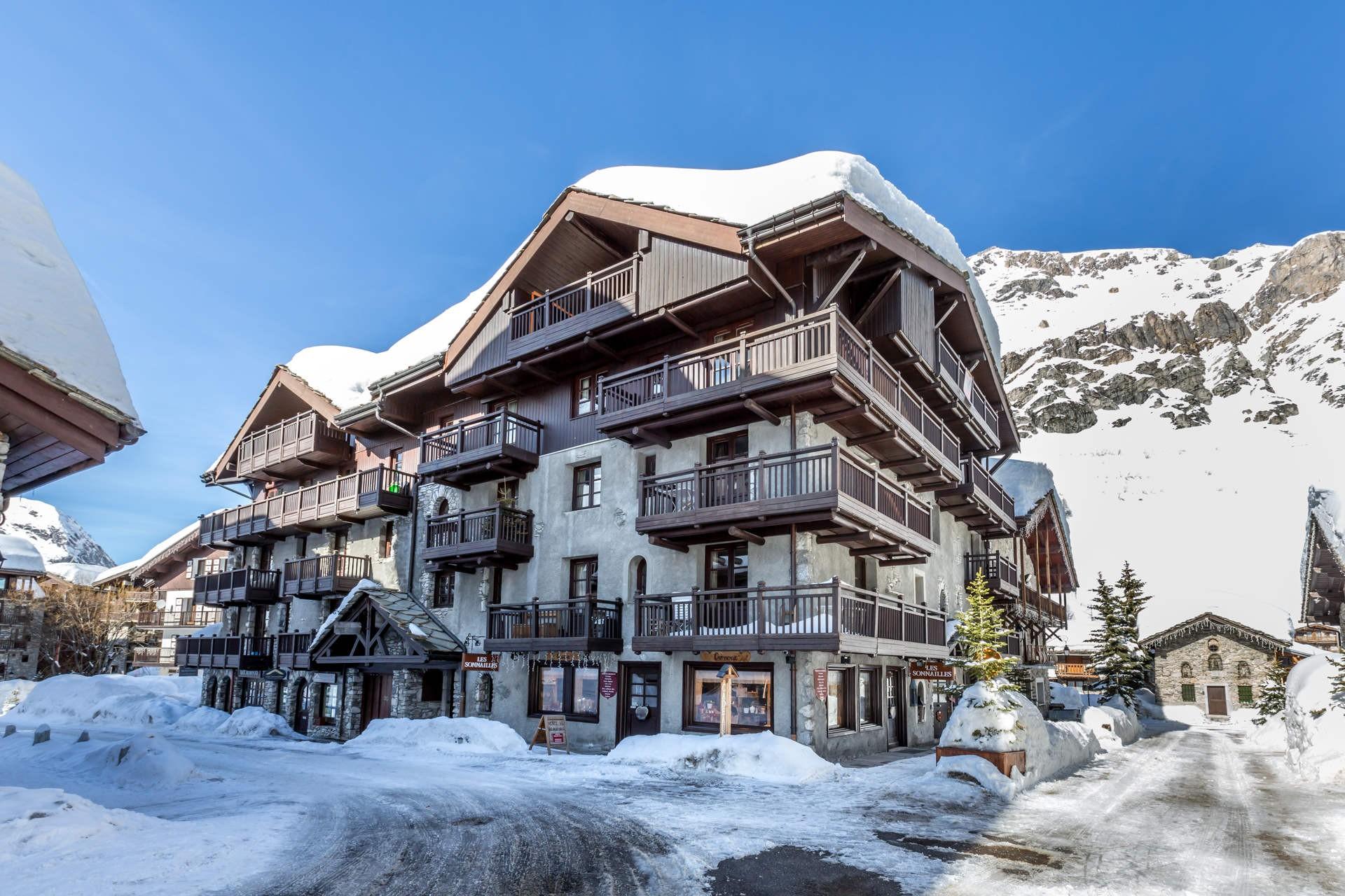 Val d'Isère Location Appartement Luxe Varalite Extérieur