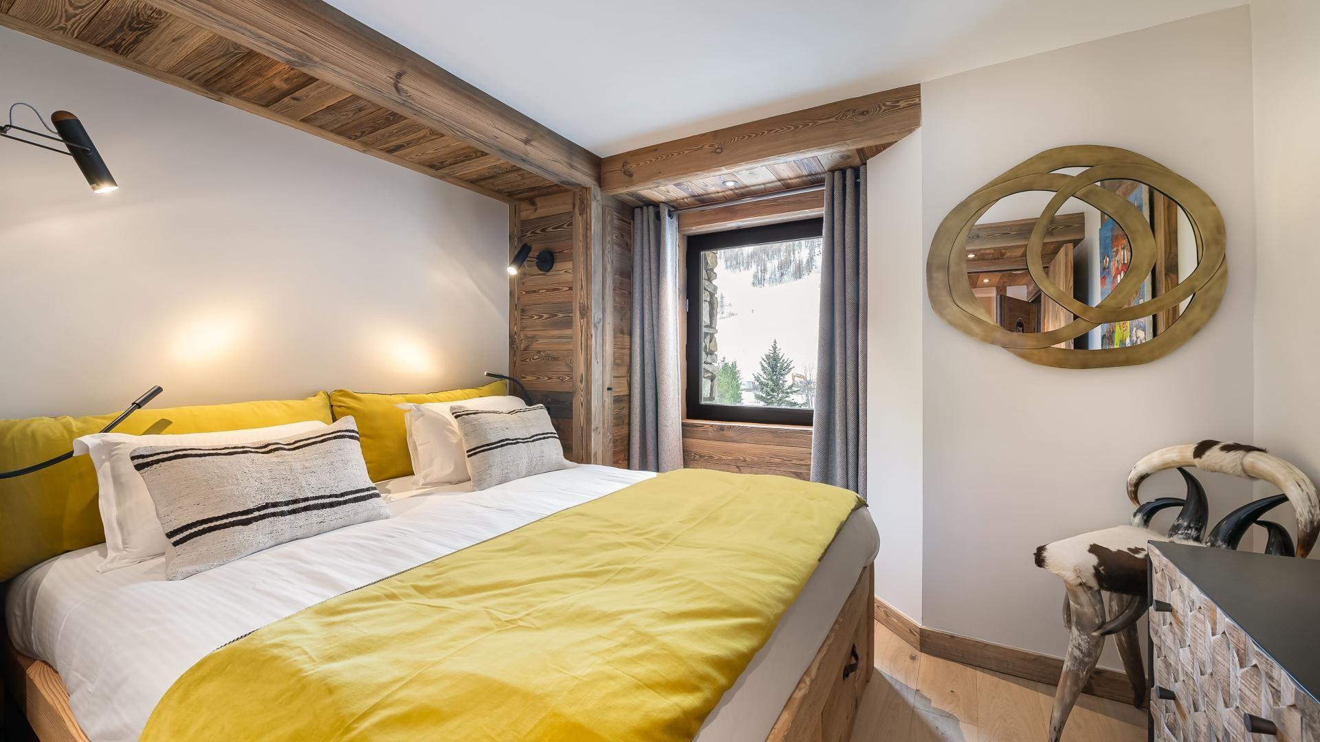 Val d'Isère Location Appartement Luxe Varmite Chambre1
