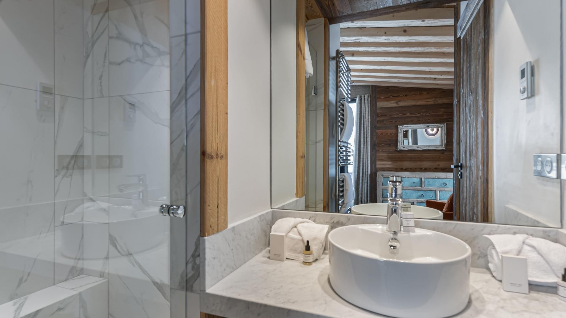 Val d'Isère Location Appartement Luxe Varvate Douche