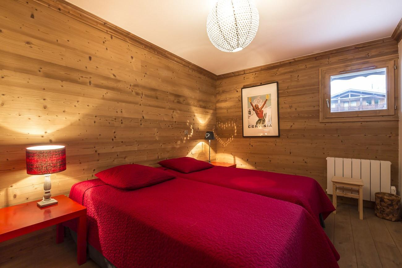 Val d'Isère Location Appartement Luxe Vaselite Chambre 3
