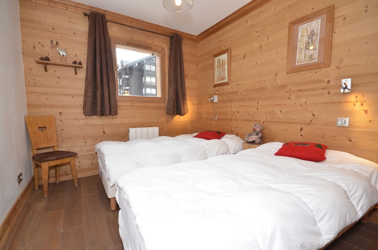 Val d'Isère Location Appartement Luxe Vaselote Chambre