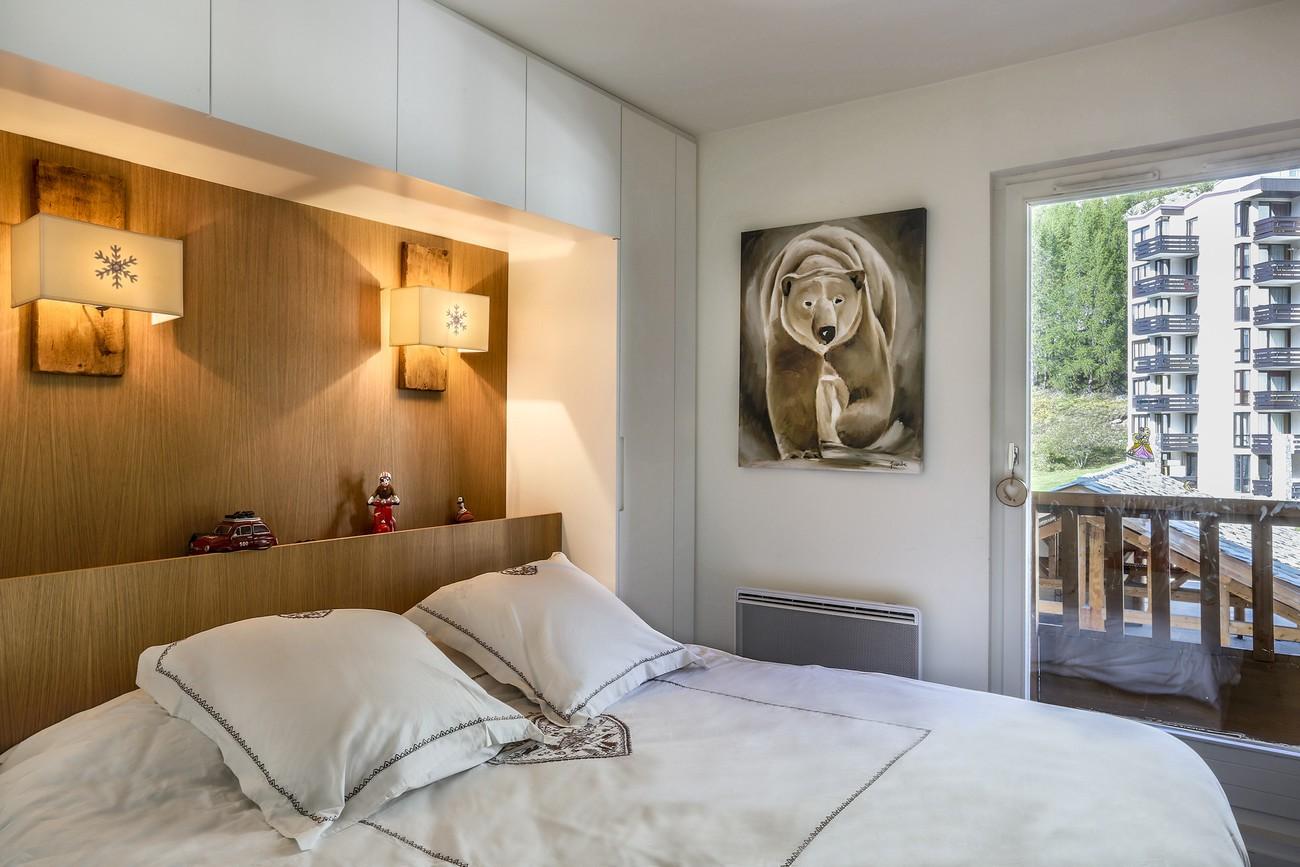 Val d'Isère Location Appartement Luxe Vasilite Chambre