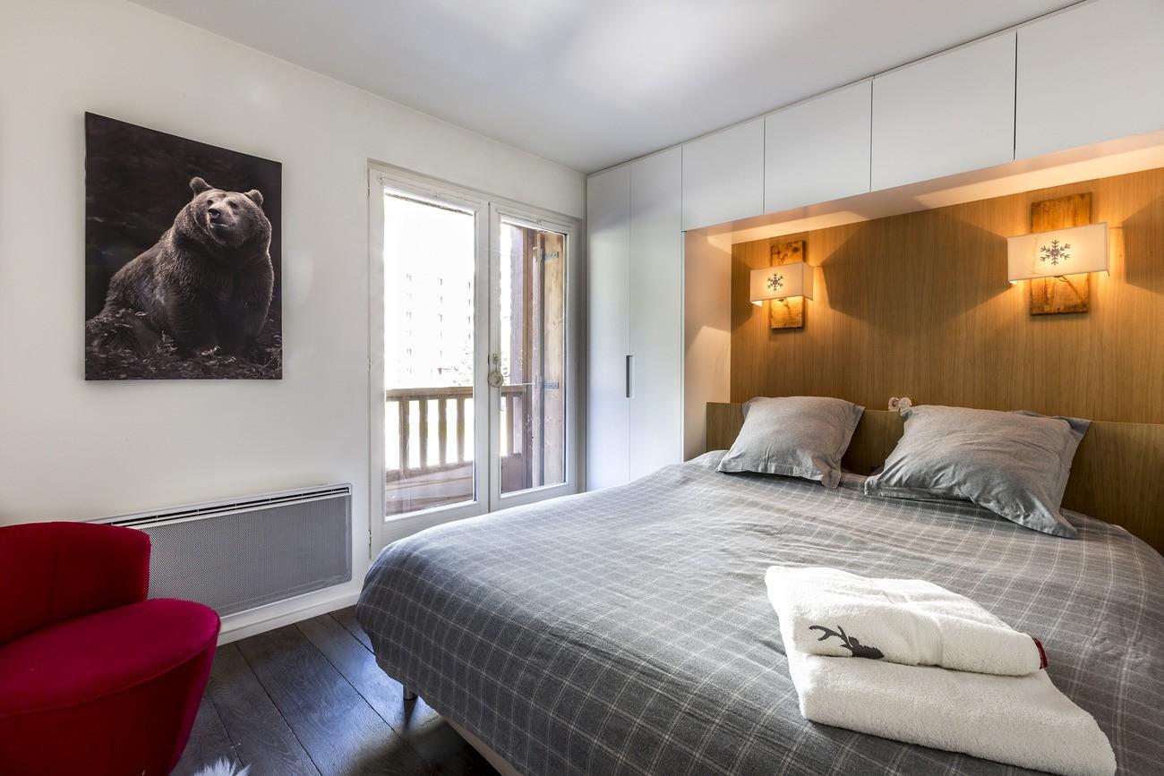 Val d'Isère Location Appartement Luxe Vasilite Chambre 3