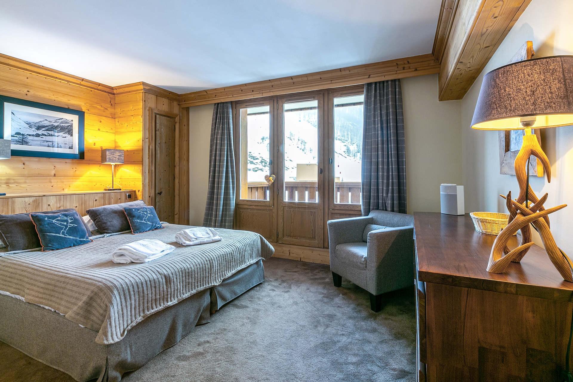 Val d'Isère Location Appartement Luxe Vatalis Chambre 4