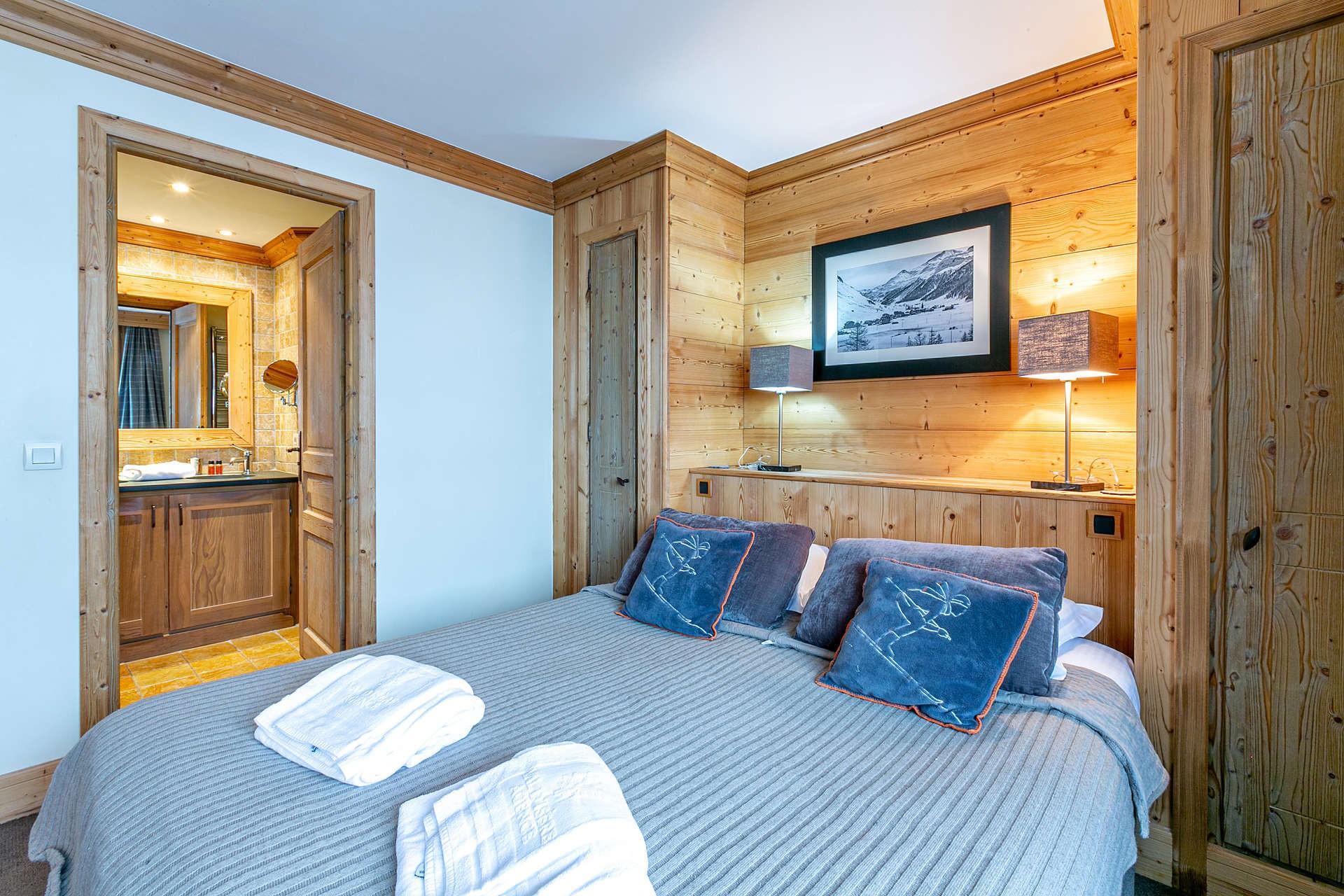Val d'Isère Location Appartement Luxe Vatalis Chambre 5