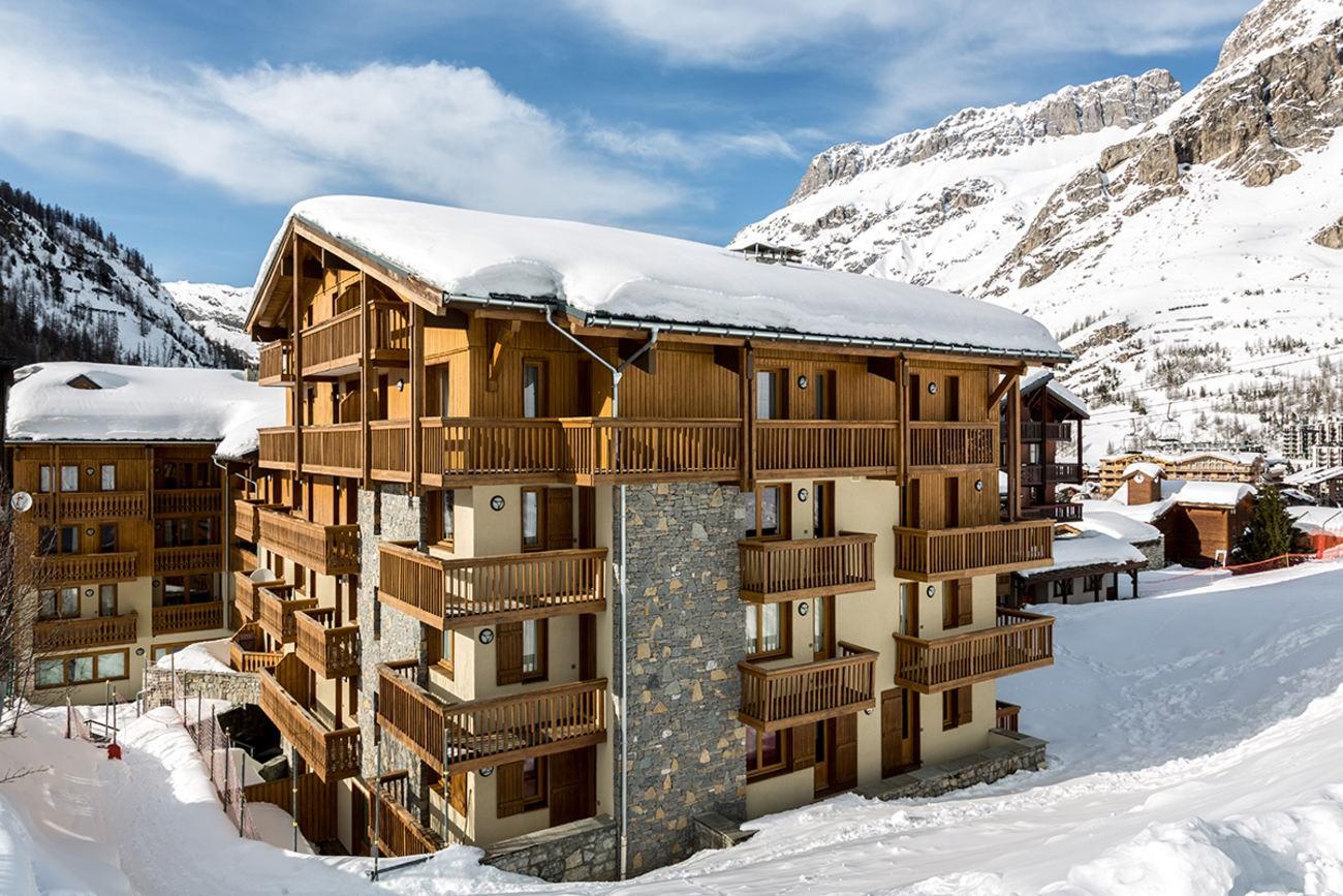Val d'Isère Location Appartement Luxe Vatalis Extérieur