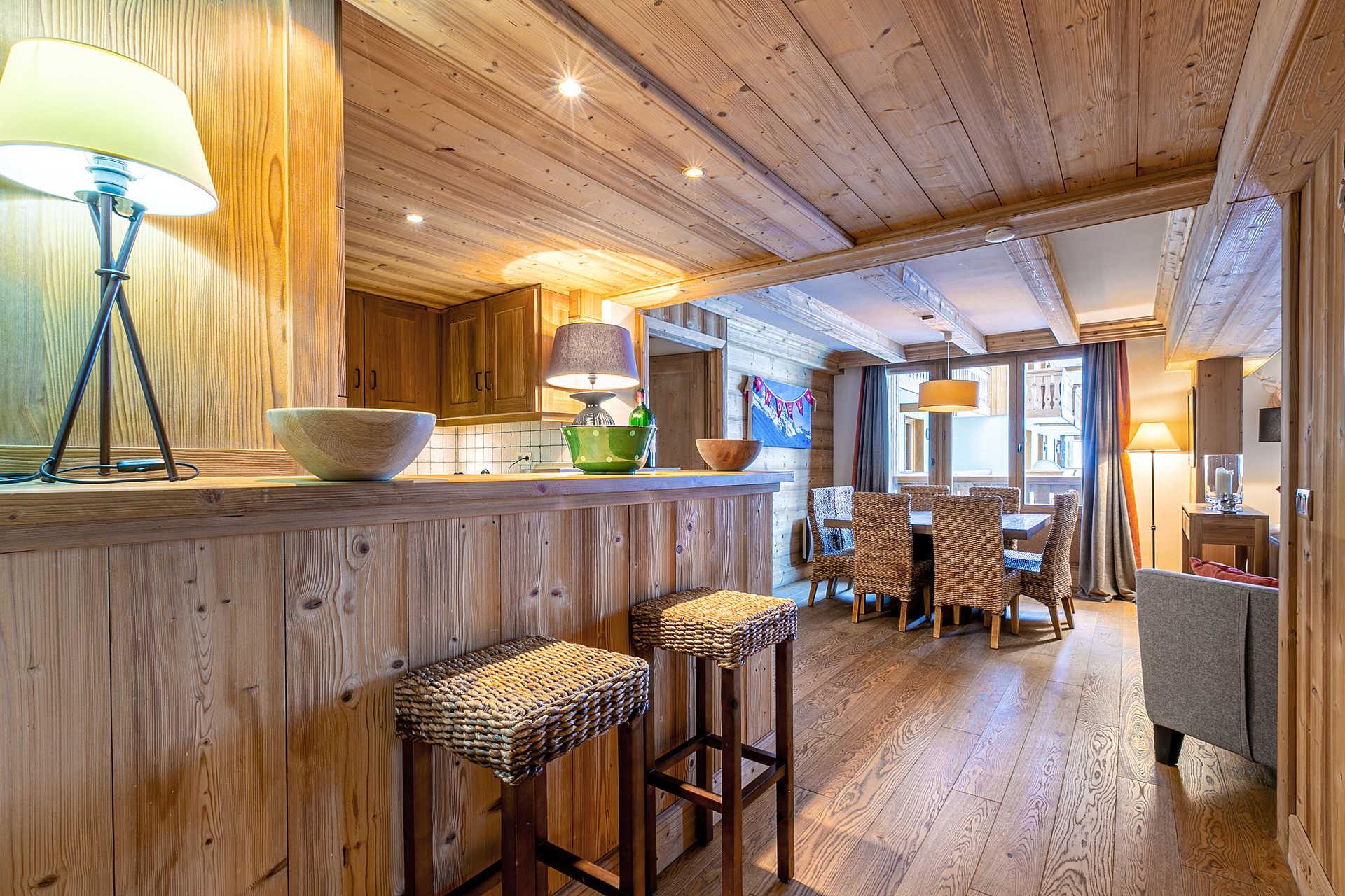 Val d'Isère Location Appartement Luxe Vatalis Séjour 5