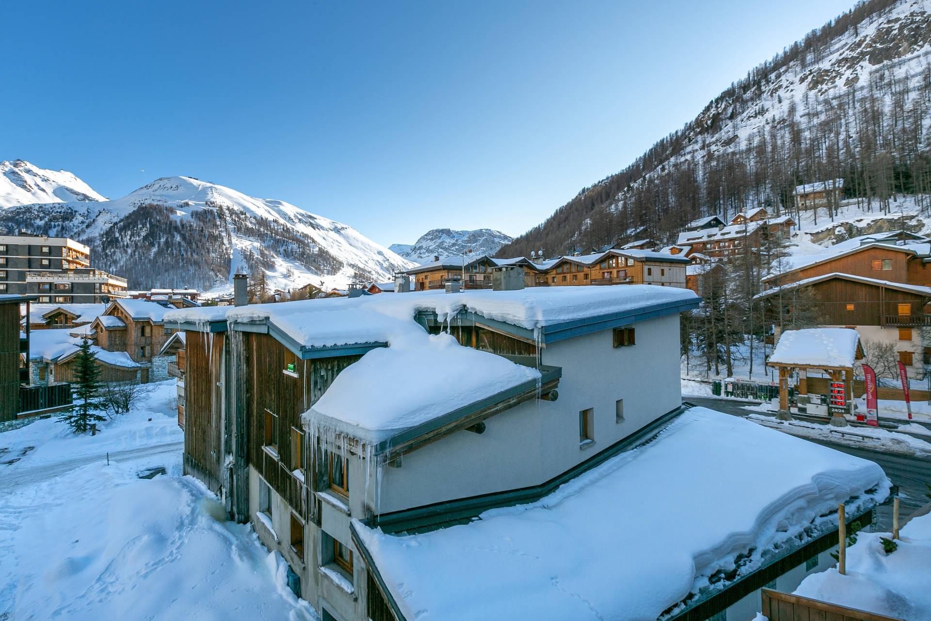 Val d'Isère Location Appartement Luxe Vatelis Extérieur