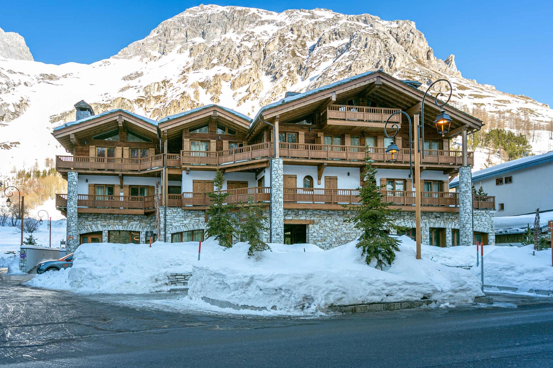 Val d'Isère Location Appartement Luxe Vatelis Extérieur 2