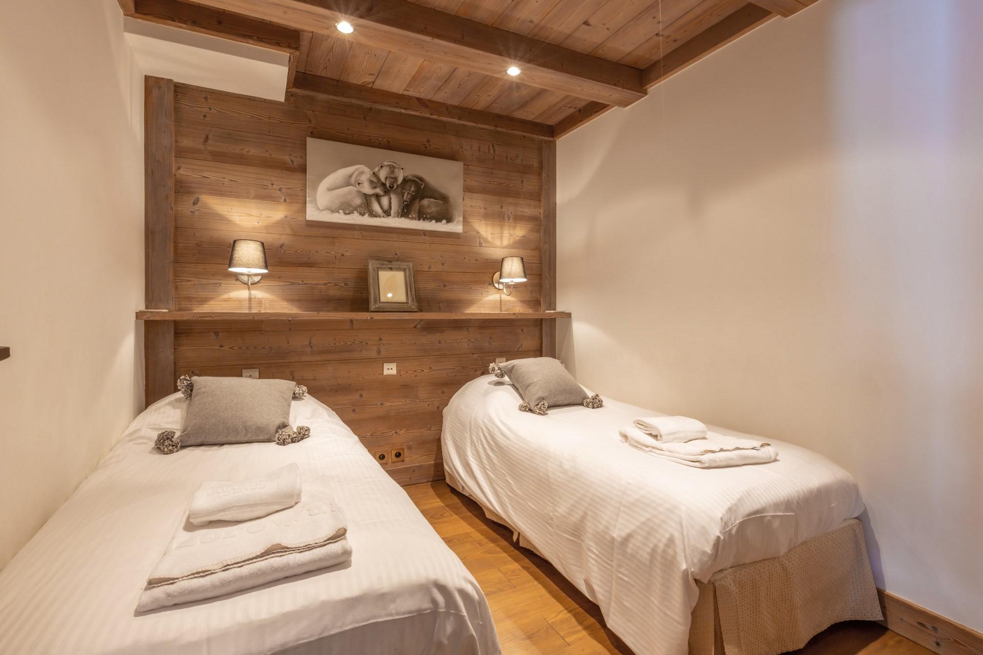 Val d'Isère Luxury Rental Apartment Vaulite Bedroom 2