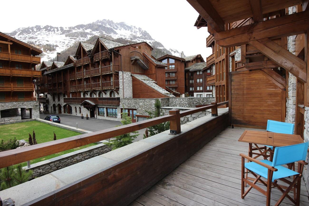 Val d'Isère Luxury Rental Apartment Vaulite Terrace