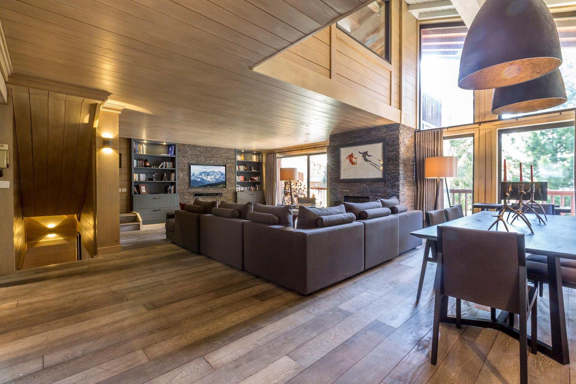 Val d'Isère Location Appartement Luxe Vaxite Séjour 3