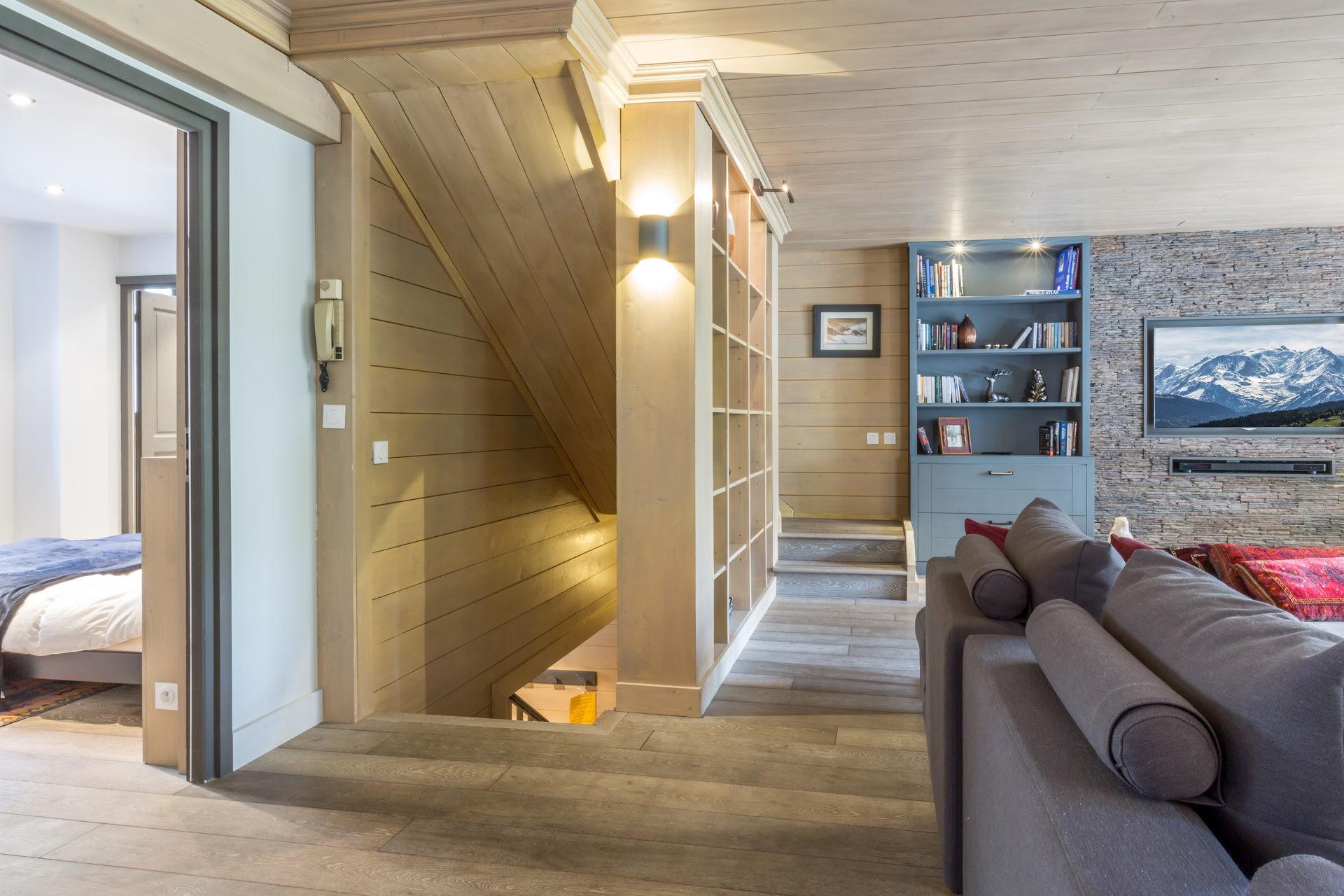 Val d'Isère Location Appartement Luxe Vaxite Séjour 5