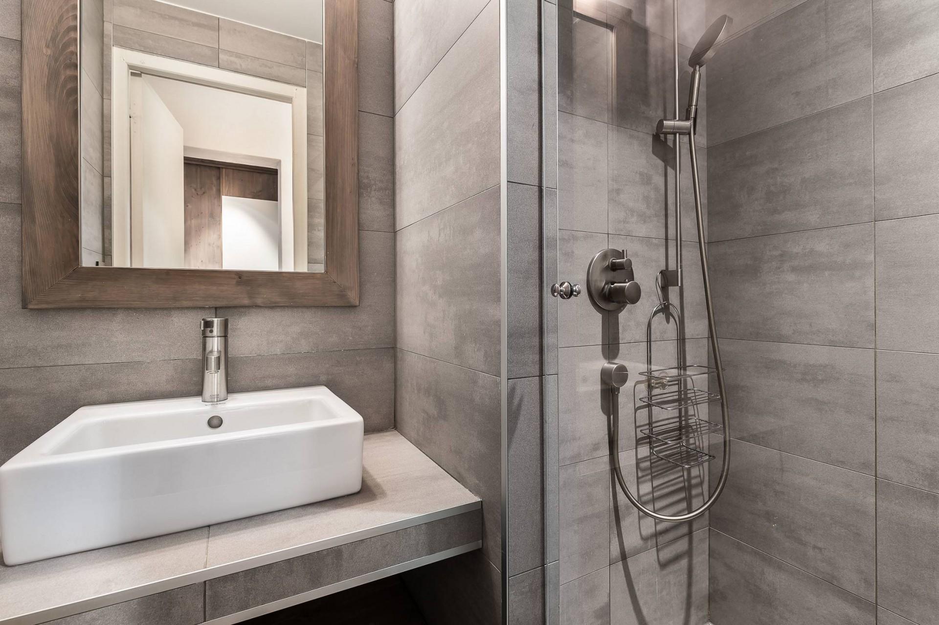 Val d'Isère Luxury Rental Appartment Vazuli Bathroom