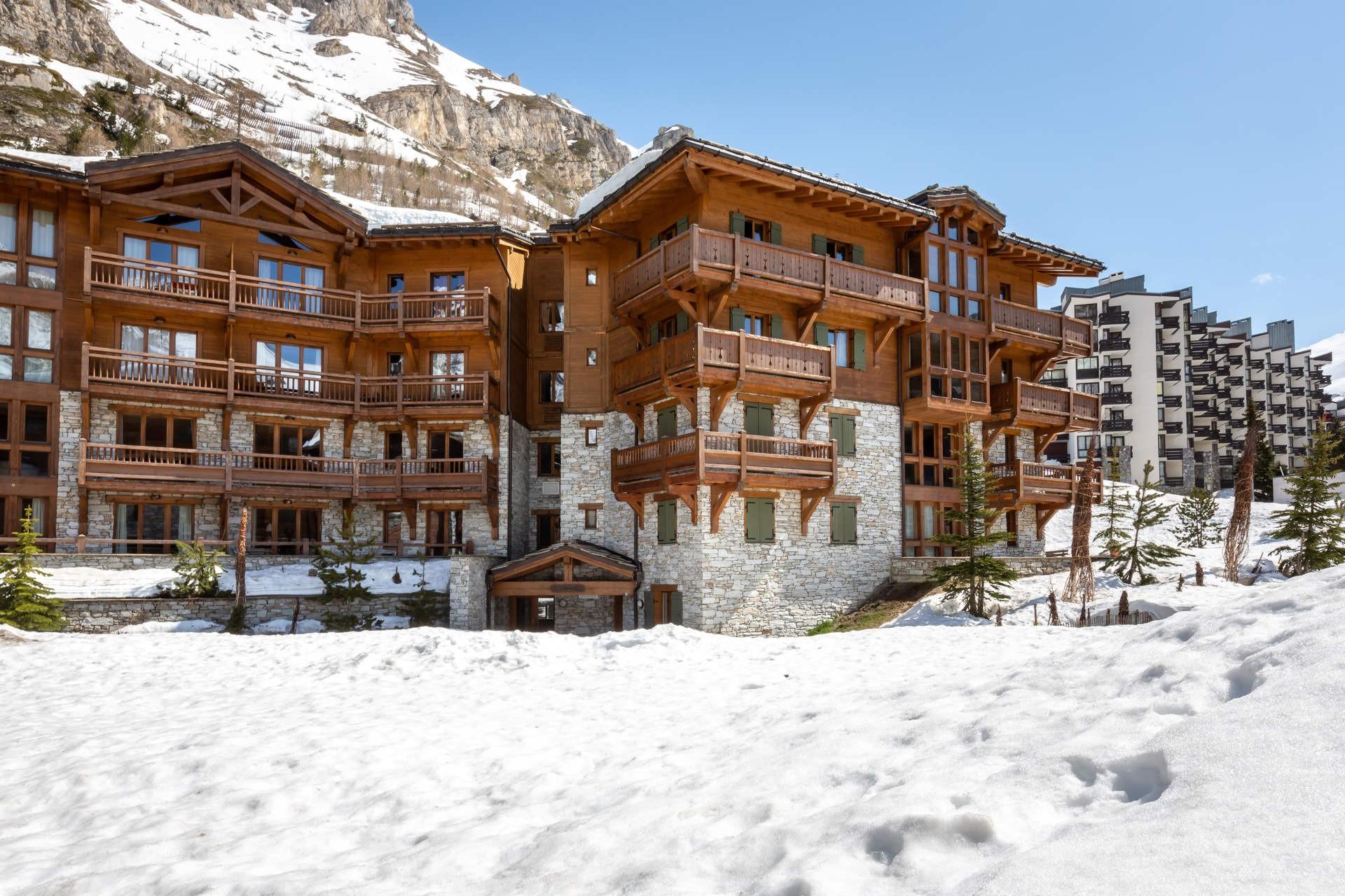 Val d'Isère Location Appartement Luxe Venturina Extérieur