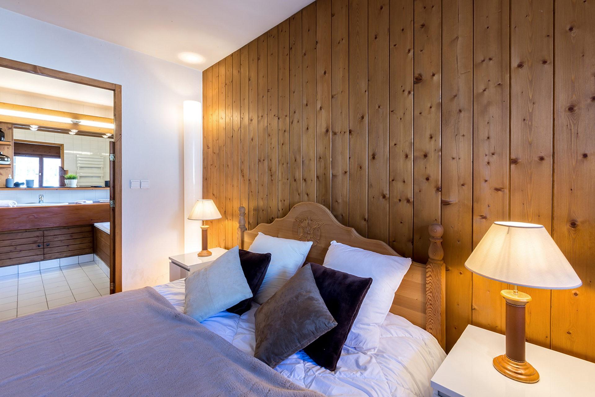 Val d'Isère Location Appartement Luxe Vesuvin Chambre
