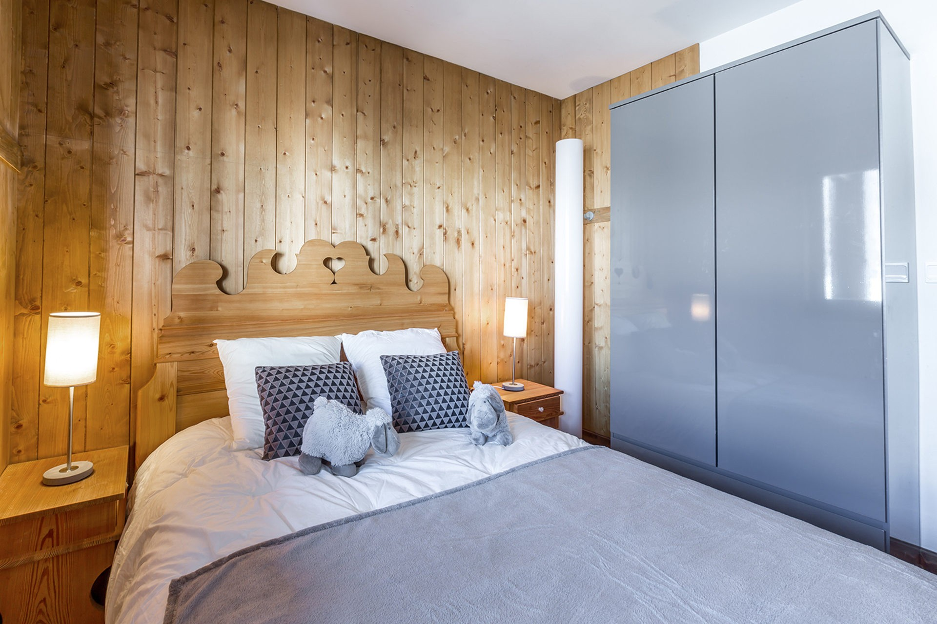 Val d'Isère Location Appartement Luxe Vesuvin Chambre 3