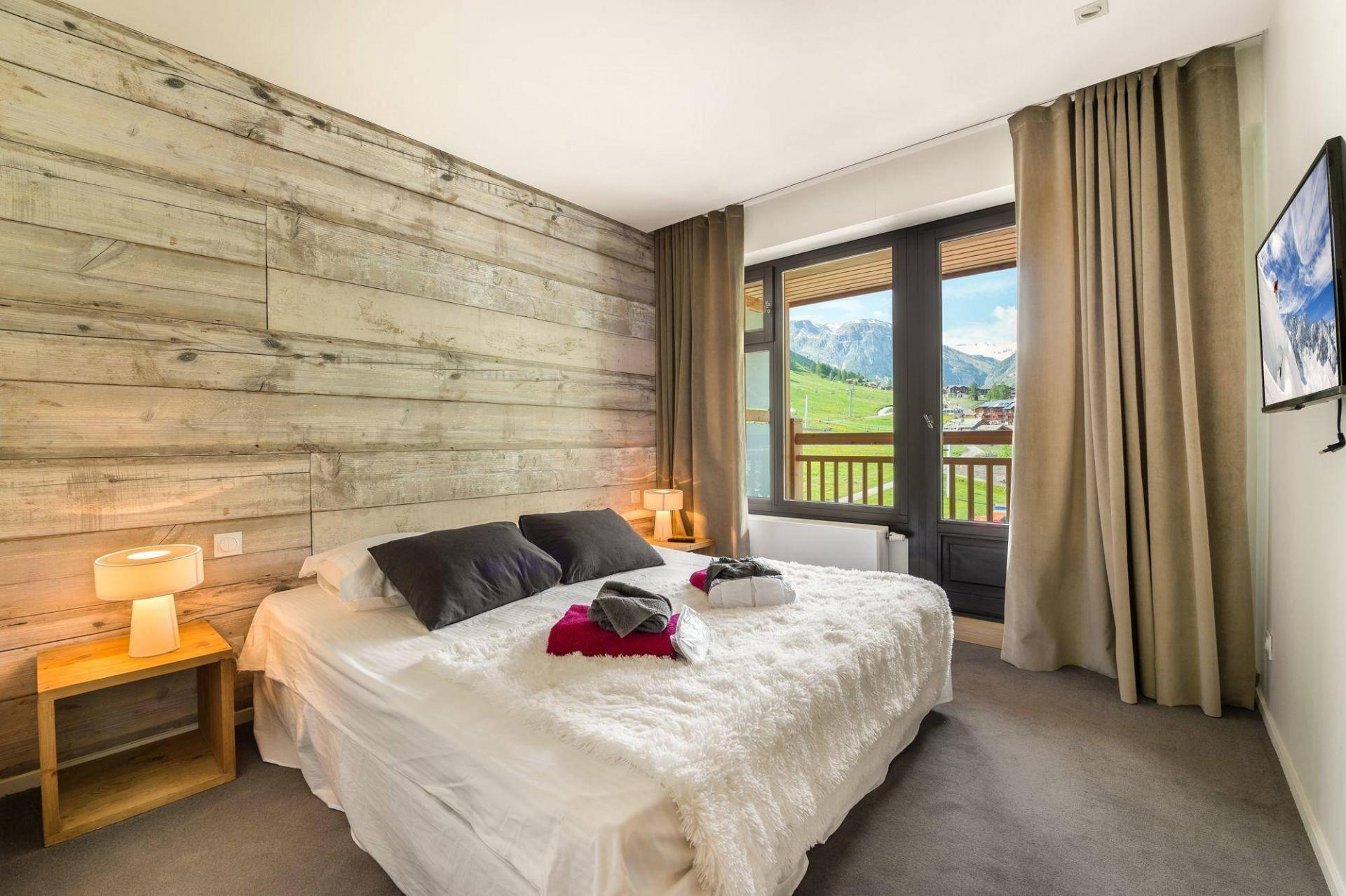 Val d'Isère Luxury Rental Appartment Vezuli Bedroom