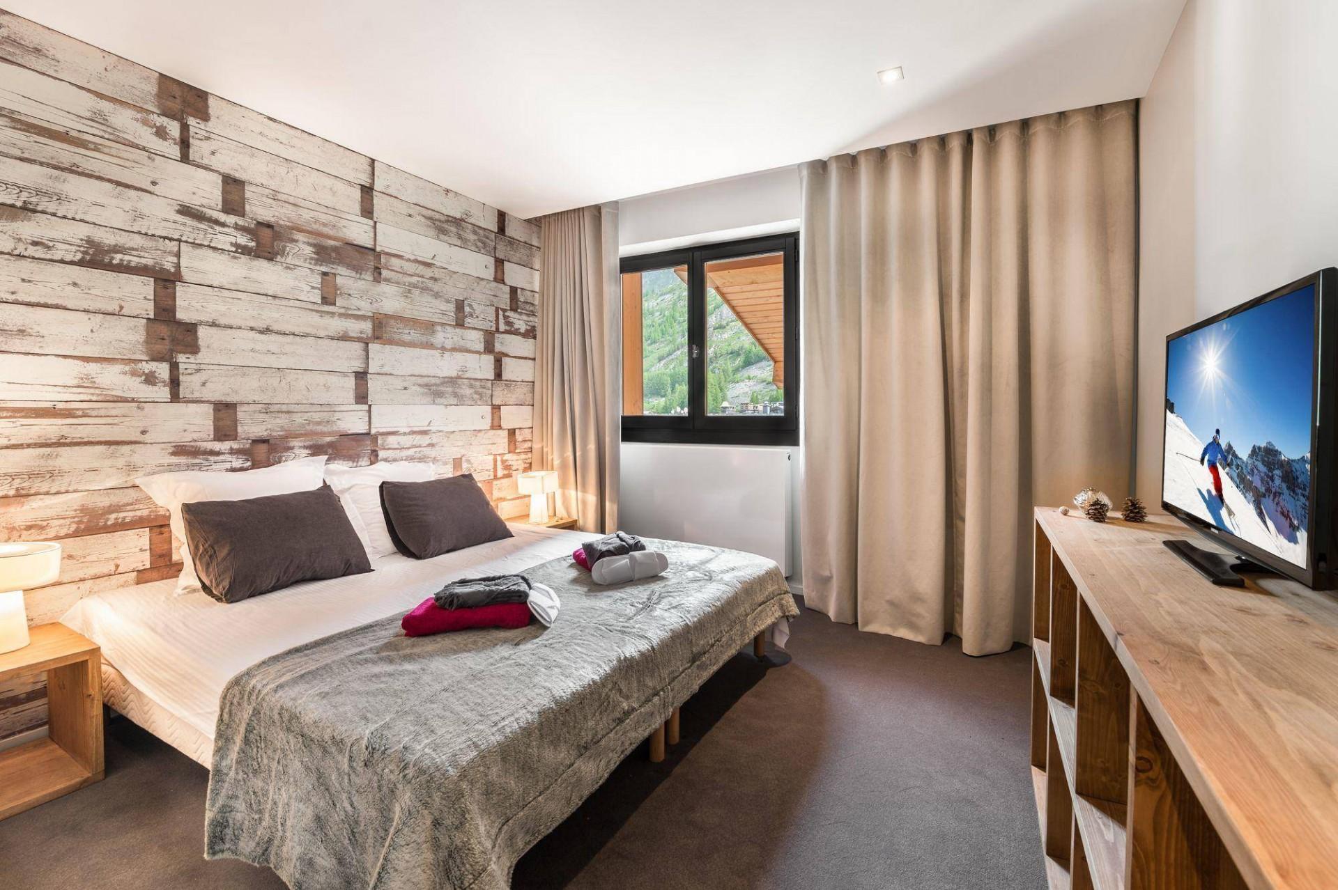 Val d'Isère Luxury Rental Appartment Vezuli Bedroom 2