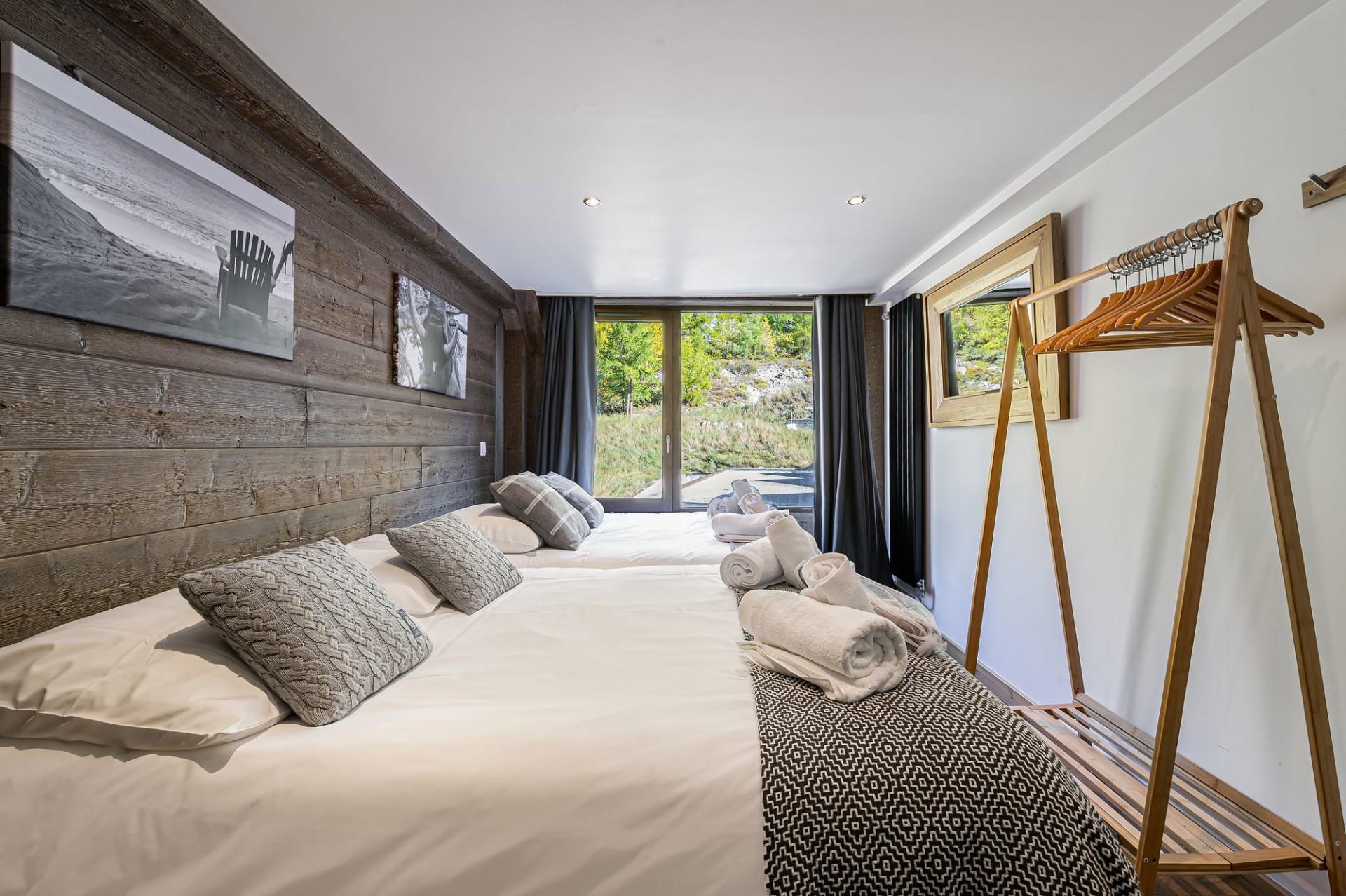 Val d'Isère Location Appartement Luxe Vigiz Chambre 3