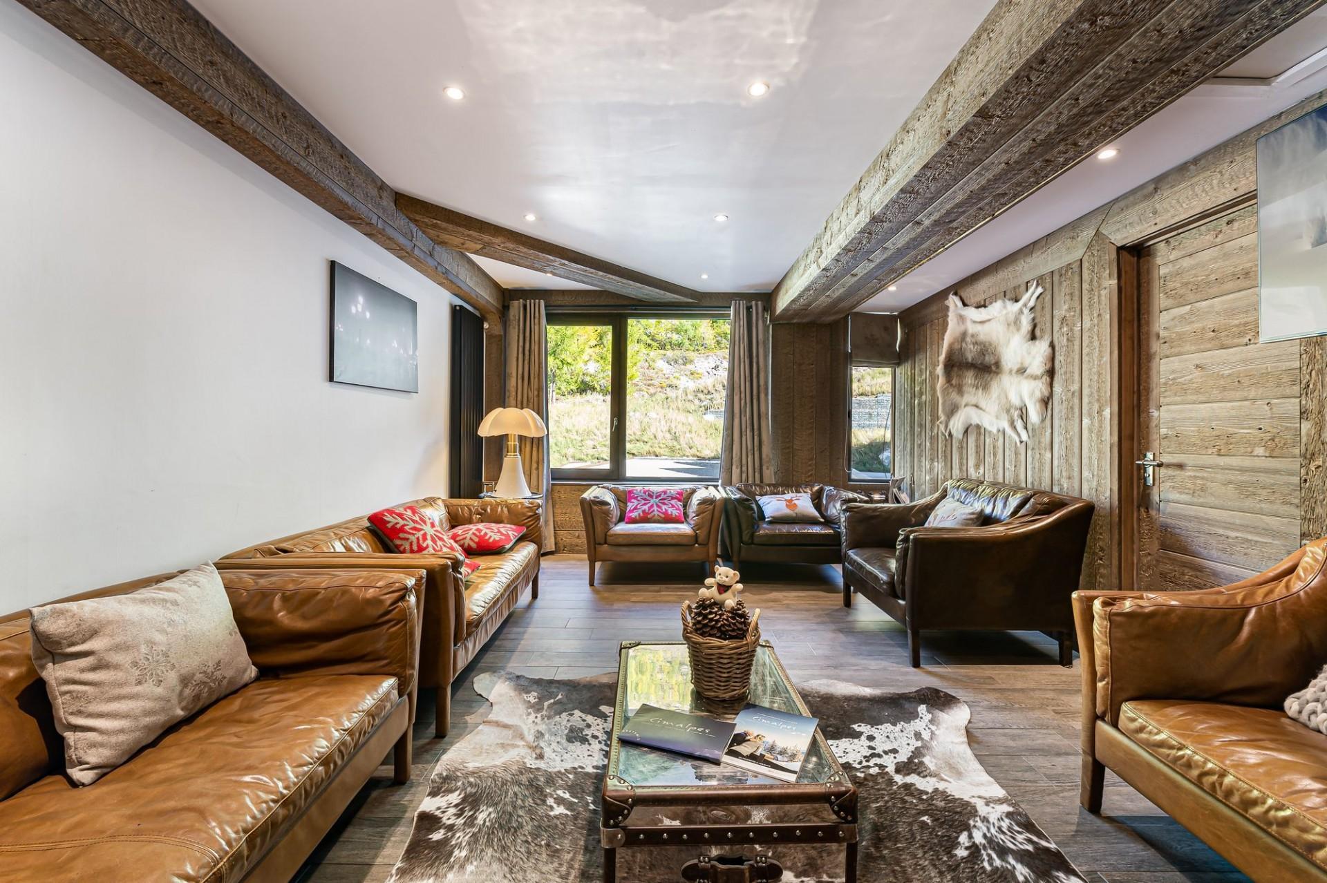 Val d'Isère Location Appartement Luxe Vigiz Séjour 2
