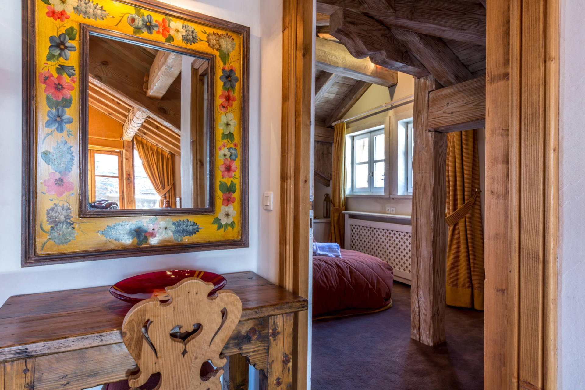 Val d'Isère Location Appartement Luxe Violane Chambre