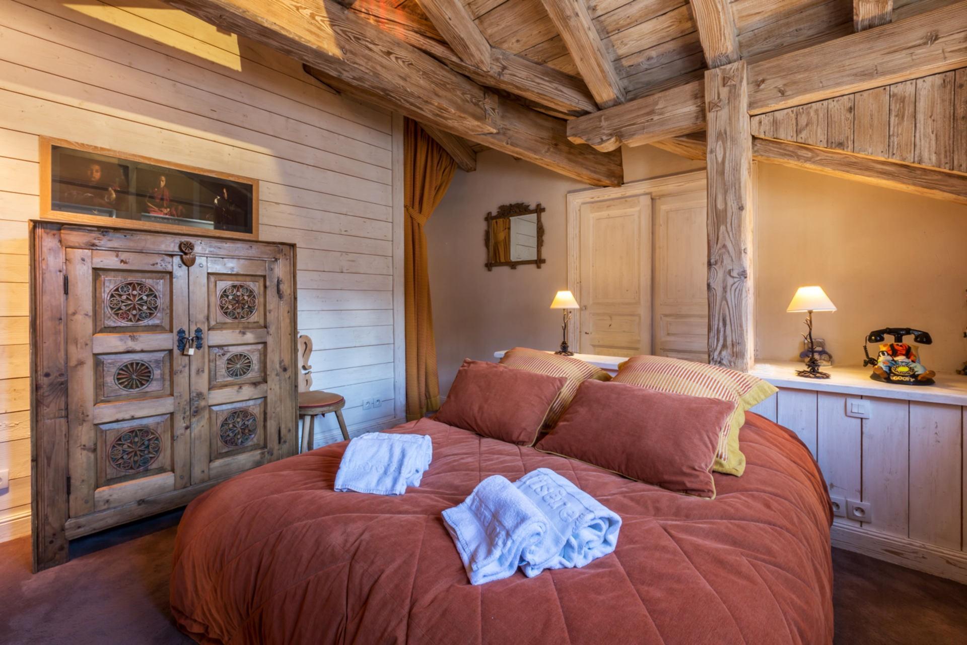 Val d'Isère Location Appartement Luxe Violane Chambre 3