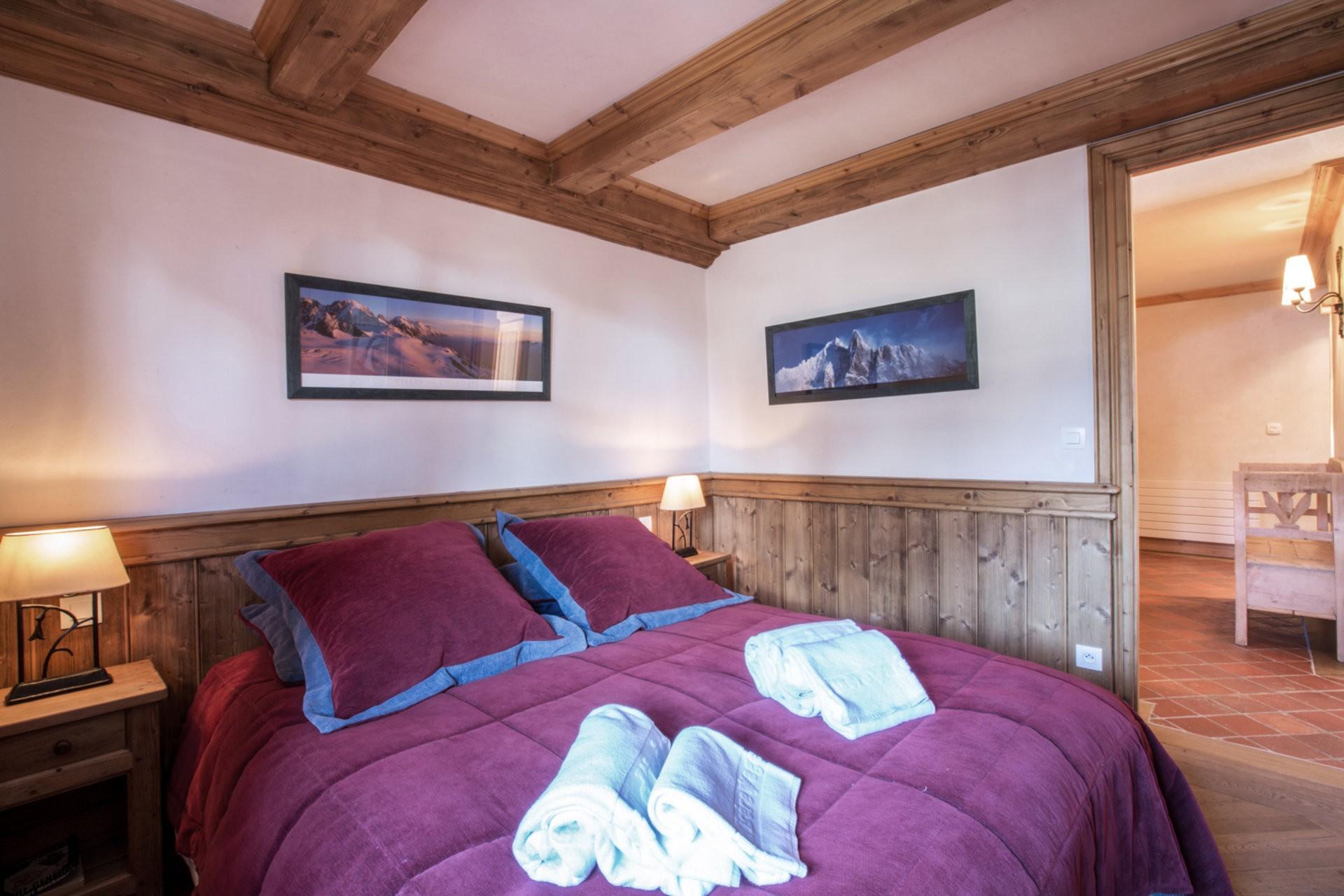 Val d'Isère Location Appartement Luxe Violane Chambre 4