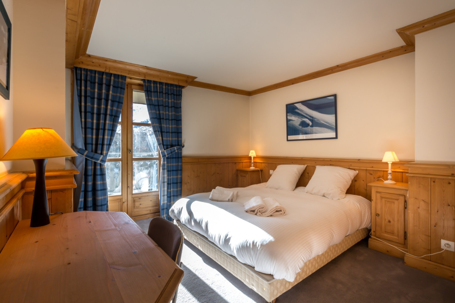 Val d'Isère Location Appartement Luxe Violane Chambre 8