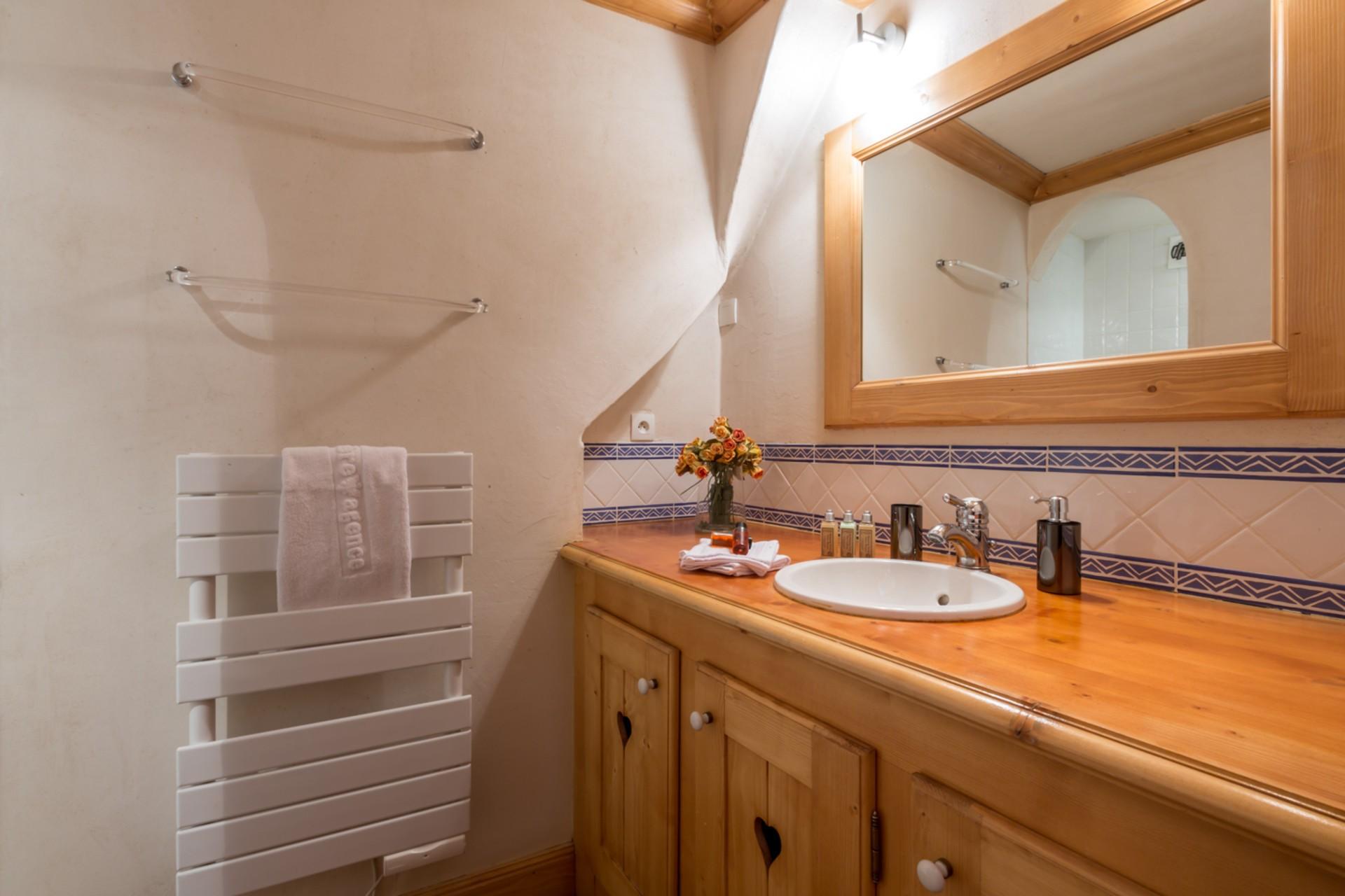 Val d'Isère Location Appartement Luxe Violane Salle De Bain 3