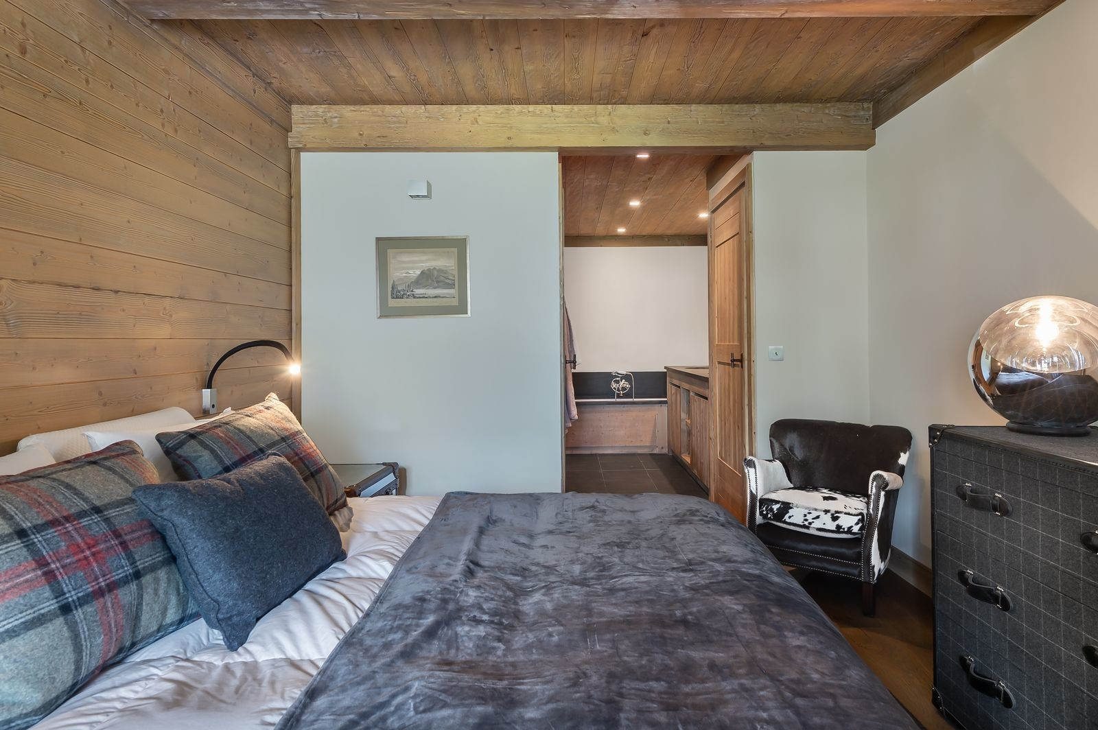 Val d'Isère Location Appartement Luxe Viorne Chambre 2