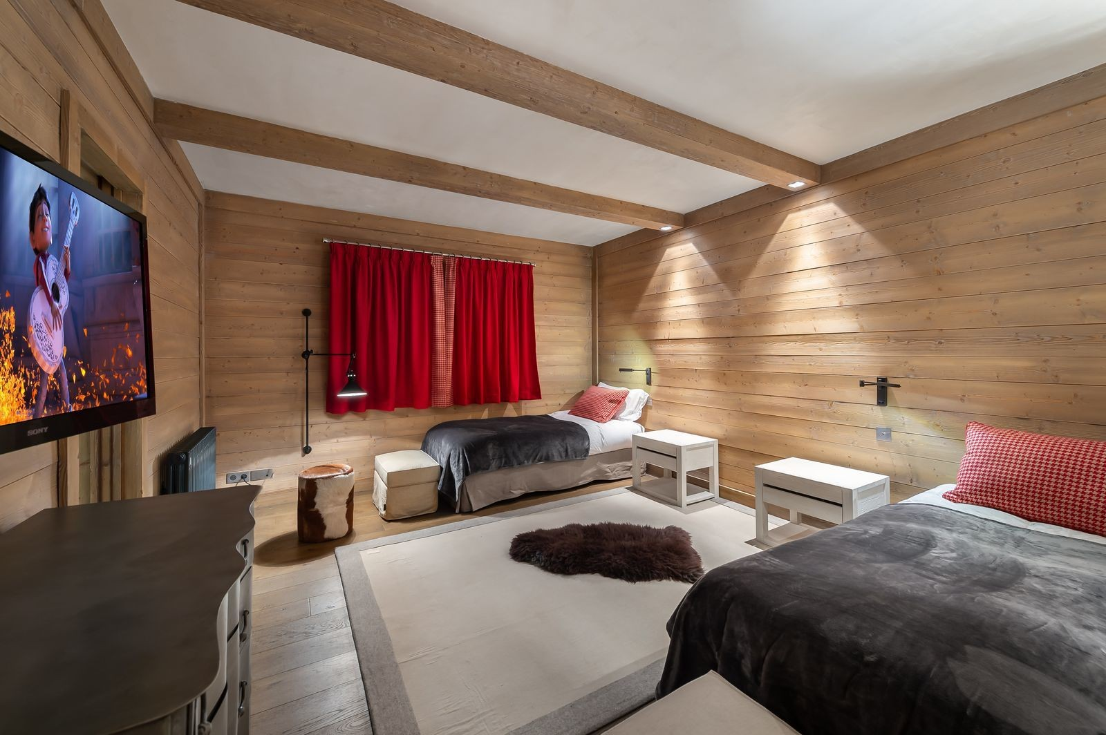 Val d'Isère Location Appartement Luxe Viorne Chambre 4