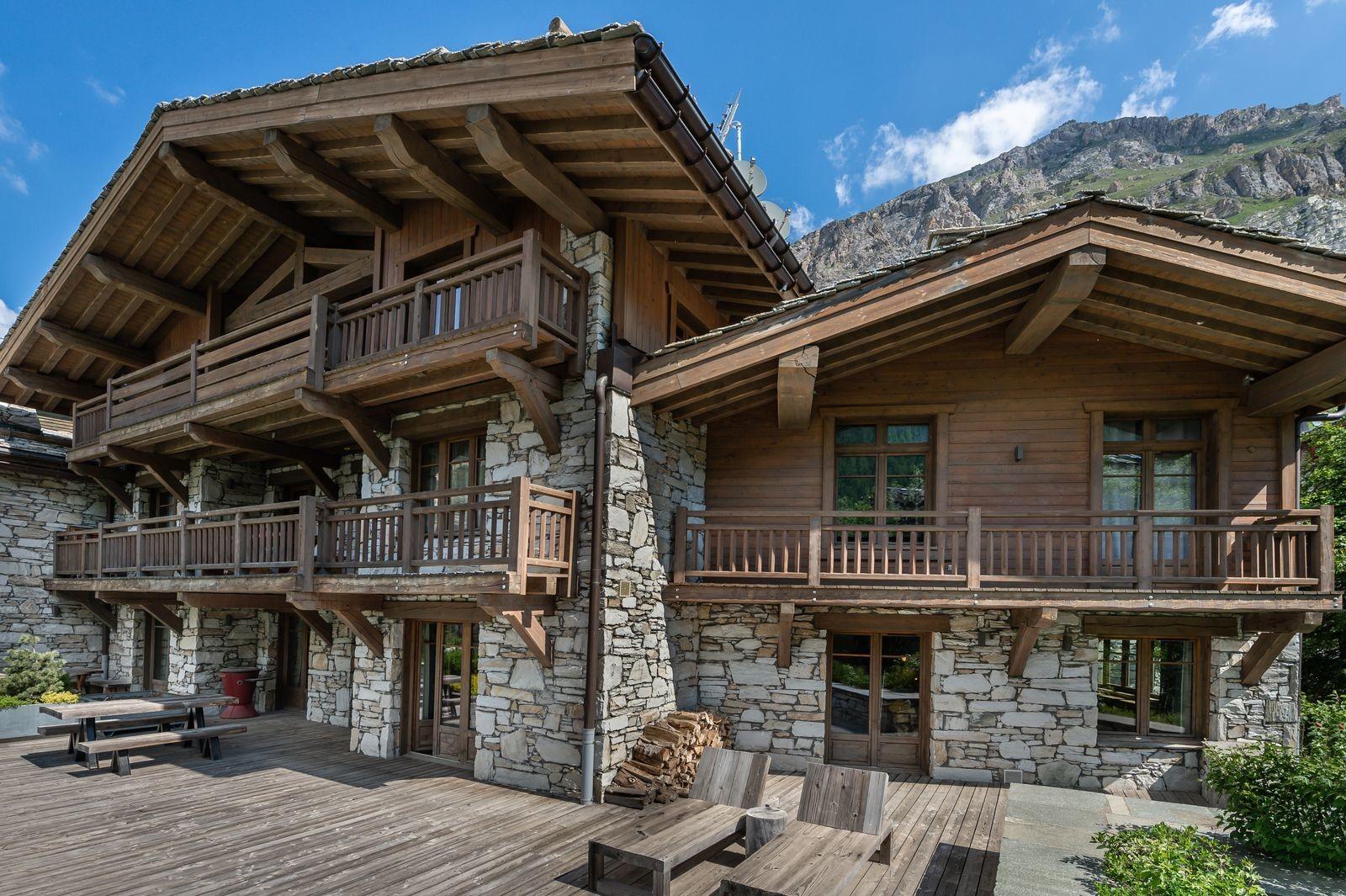 Val d'Isère Location Appartement Luxe Viorne Extérieur