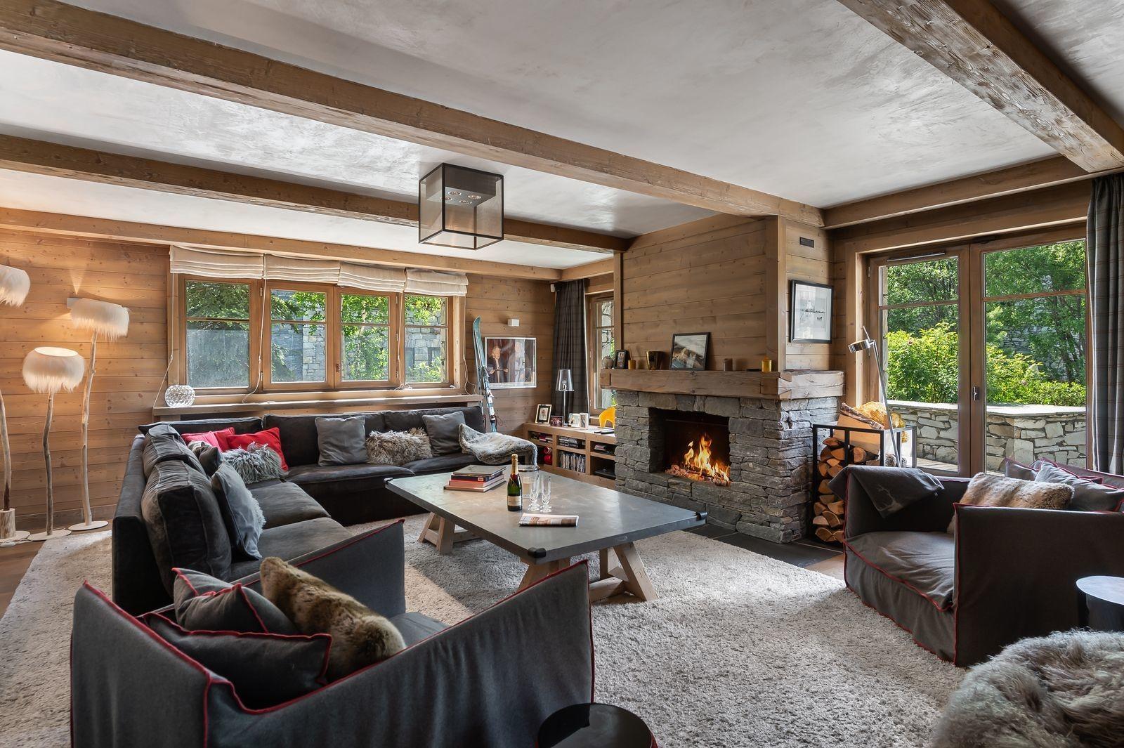 Val d'Isère Location Appartement Luxe Viorne Séjour