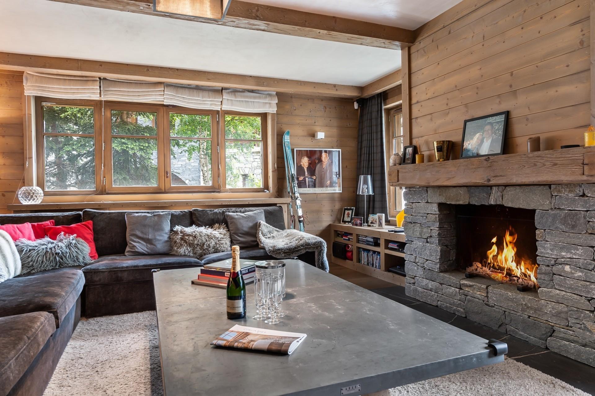 Val d'Isère Location Appartement Luxe Viorne Séjour 3