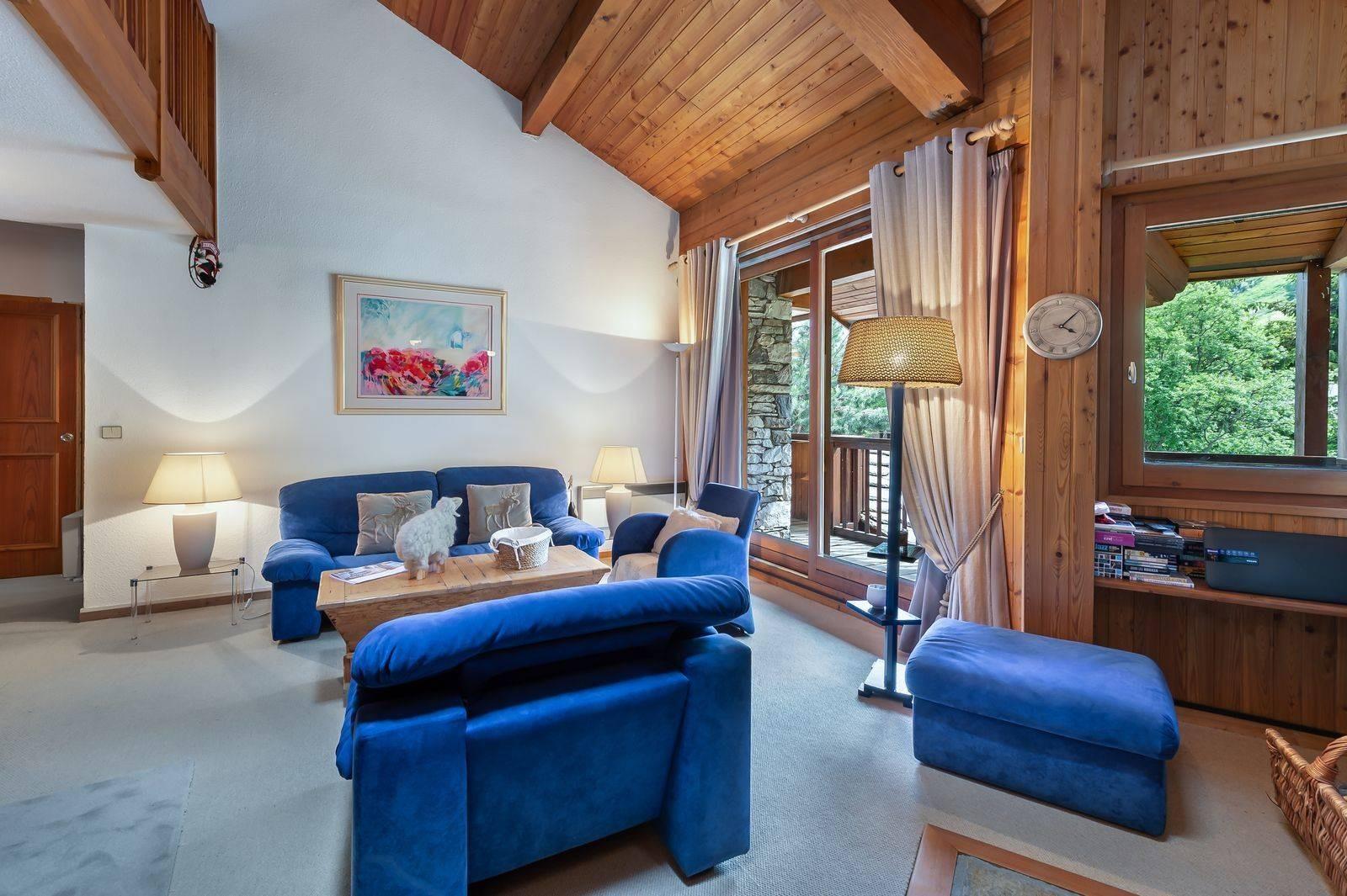 Val d'Isère Location Appartement Luxe Vitalane Séjour