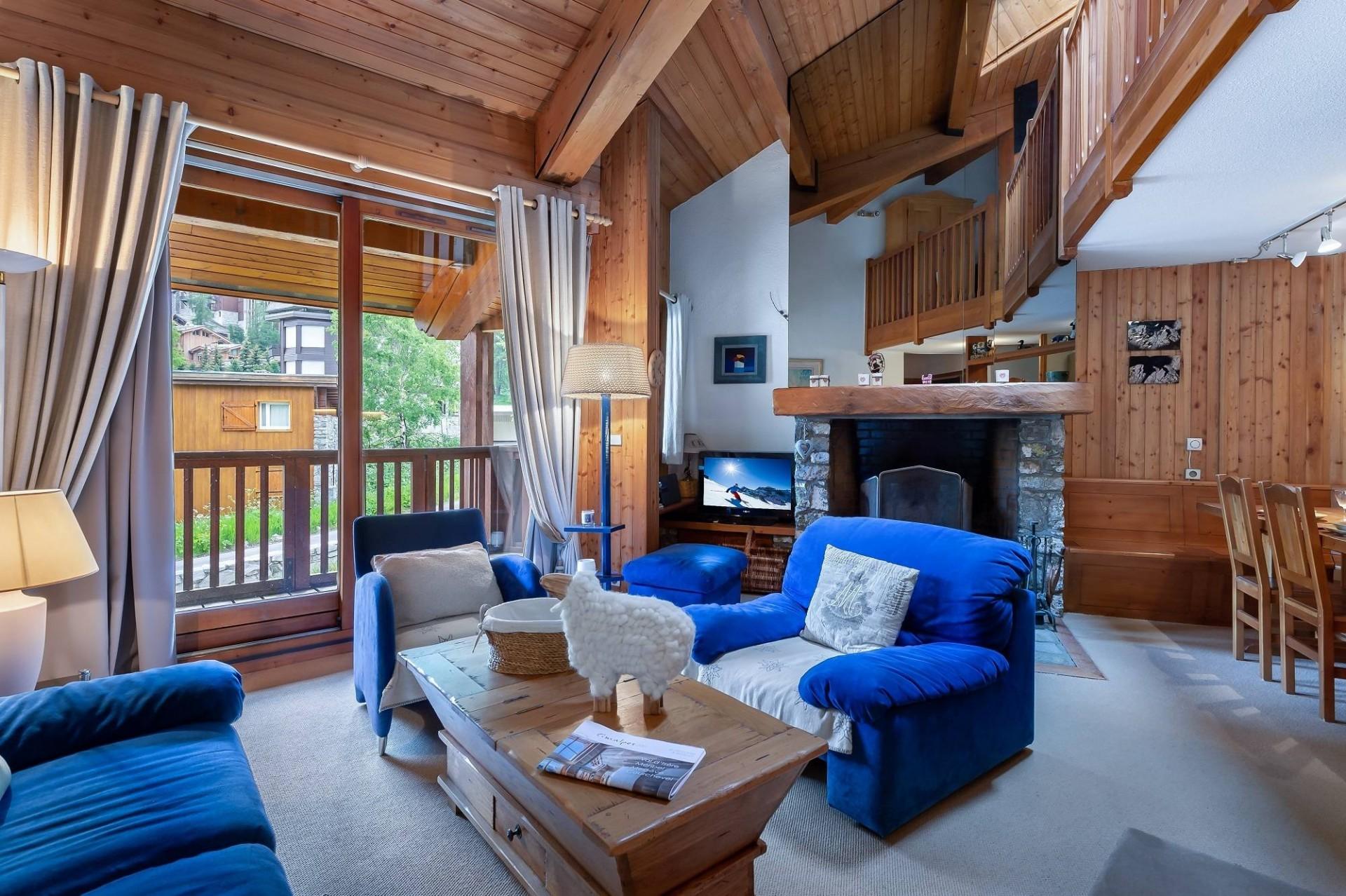 Val d'Isère Location Appartement Luxe Vitalane Séjour 3