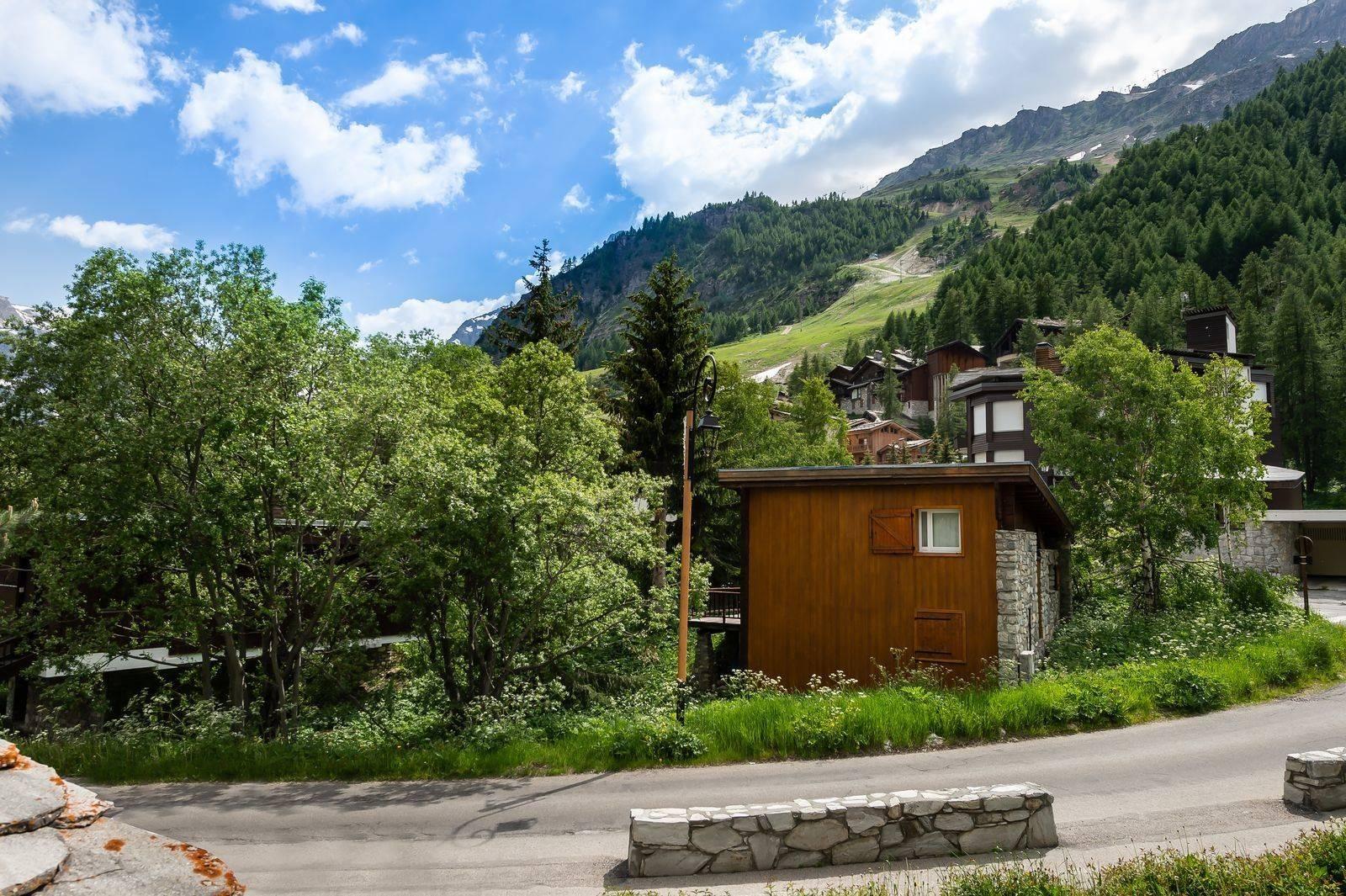 Val d'Isère Location Appartement Luxe Vitalane Vue