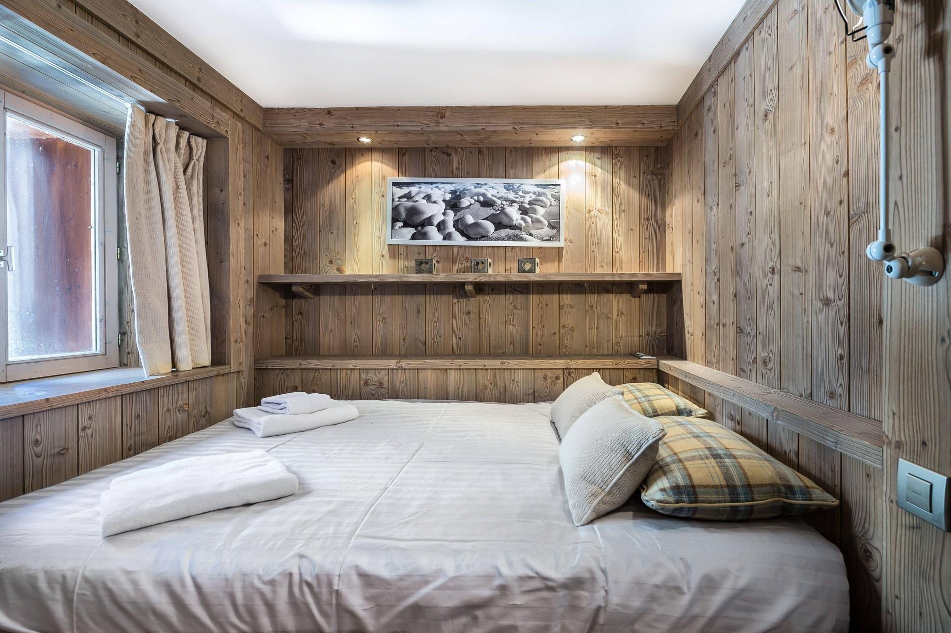 Val d'Isère Luxury Rental Appartment Viteli Bedroom