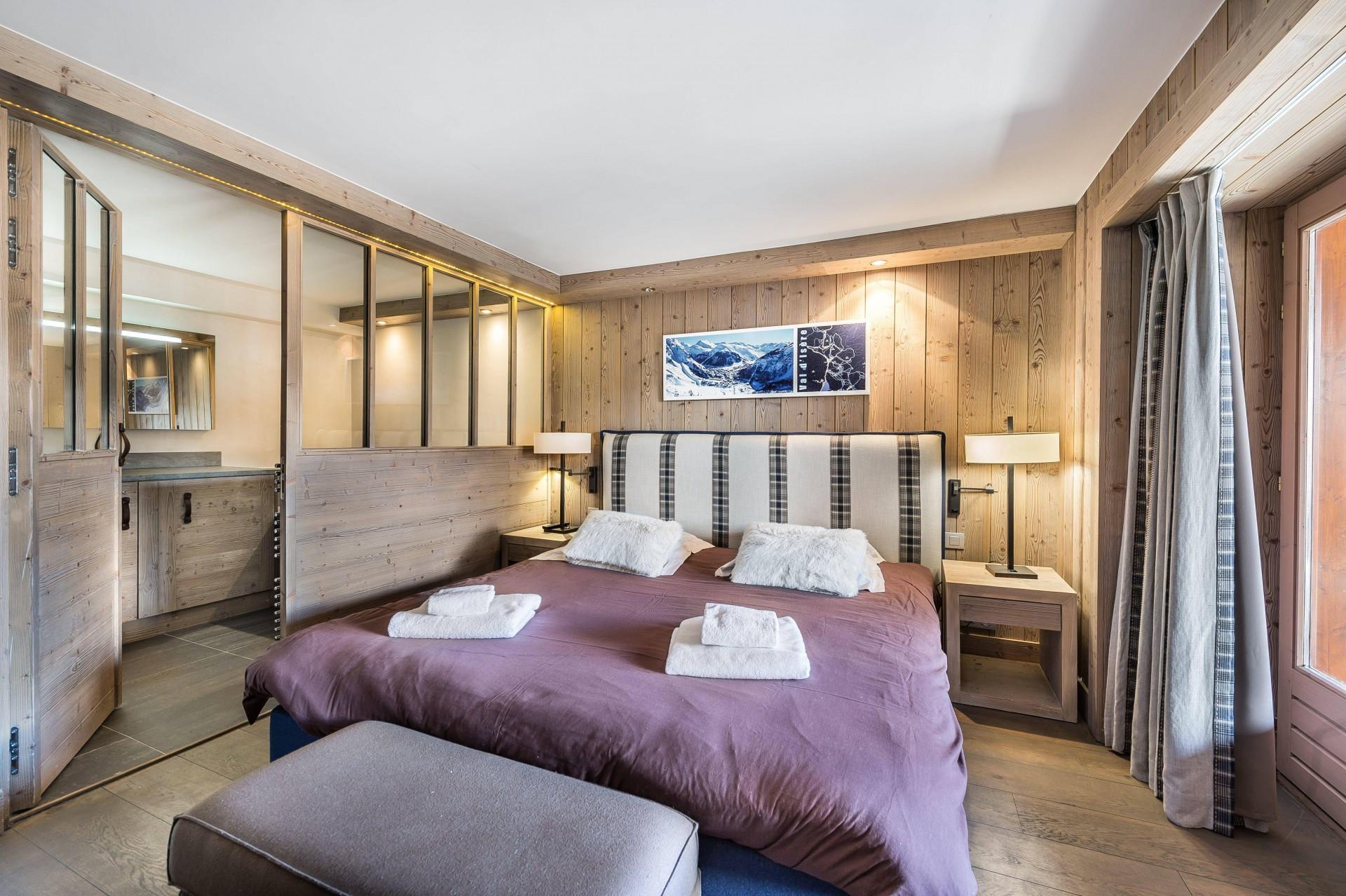 Val d'Isère Luxury Rental Appartment Viteli Bedroom 2