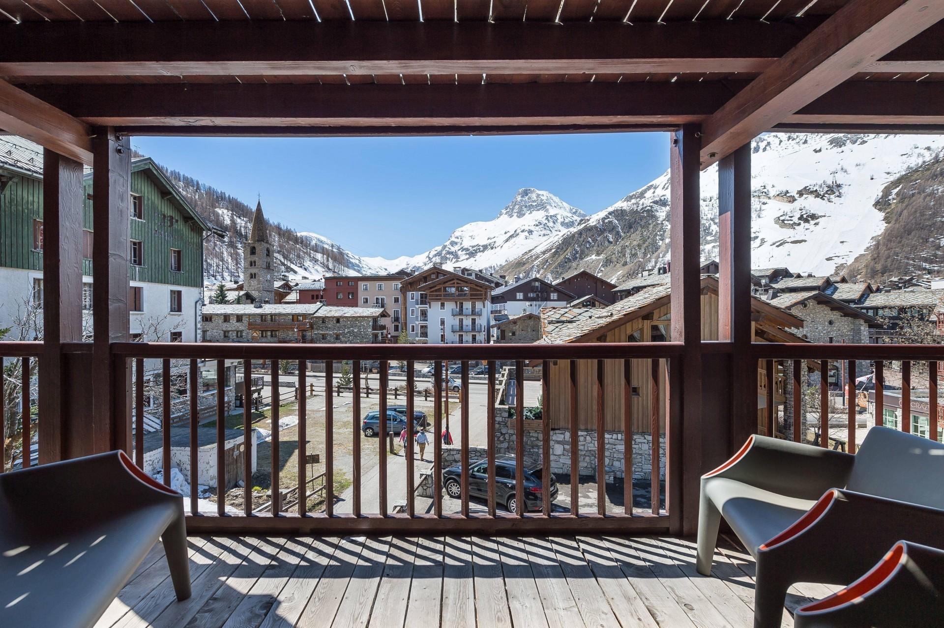 Val d'Isère Luxury Rental Appartment Viteli Terrace