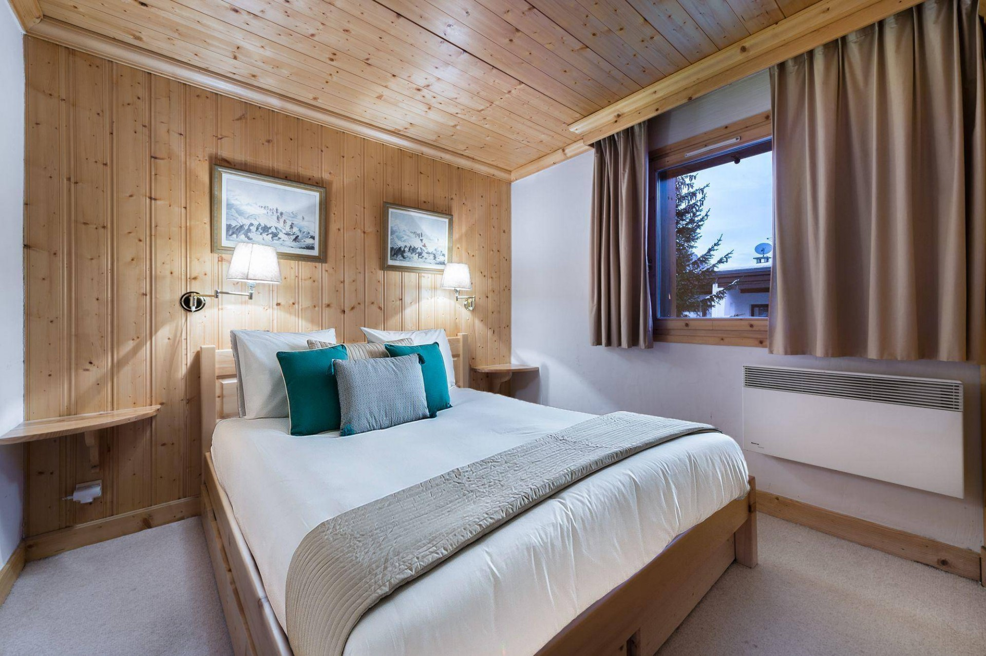 Val d'Isère Location Appartement Luxe Vitolan Chambre 2