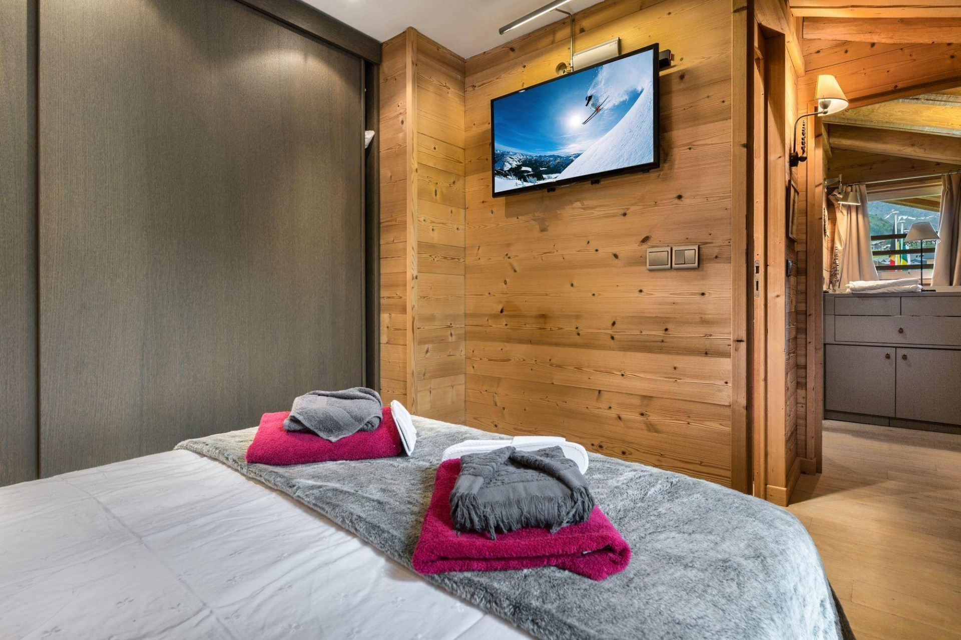 Val d'Isère Location Appartement Luxe Vitoli Chambre 2