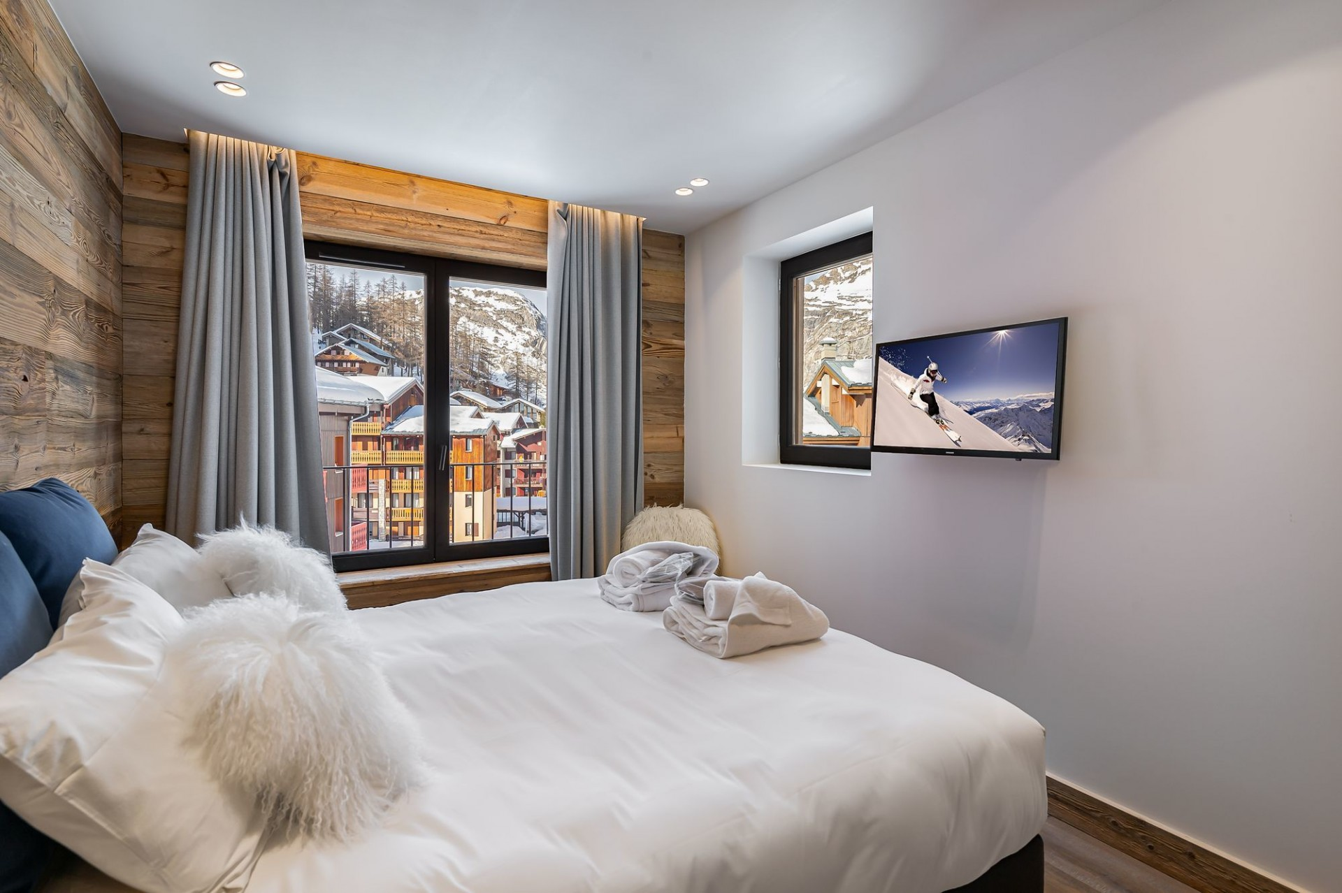 Val D'Isère Location Chalet Luxe Amazonite Chambre 2